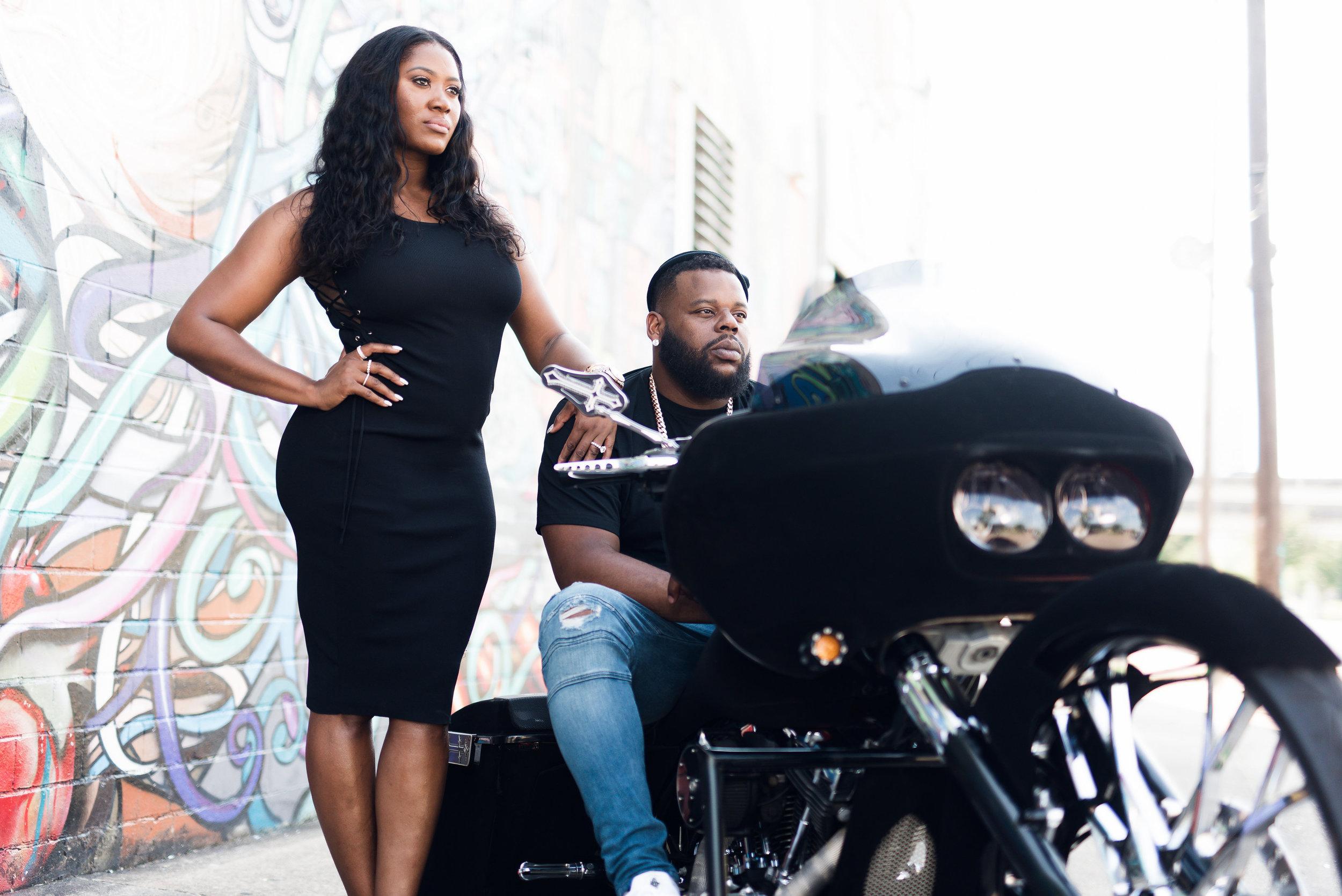 Texas- Pharris Photography- Engagement Shoot- Kisha + Shaun