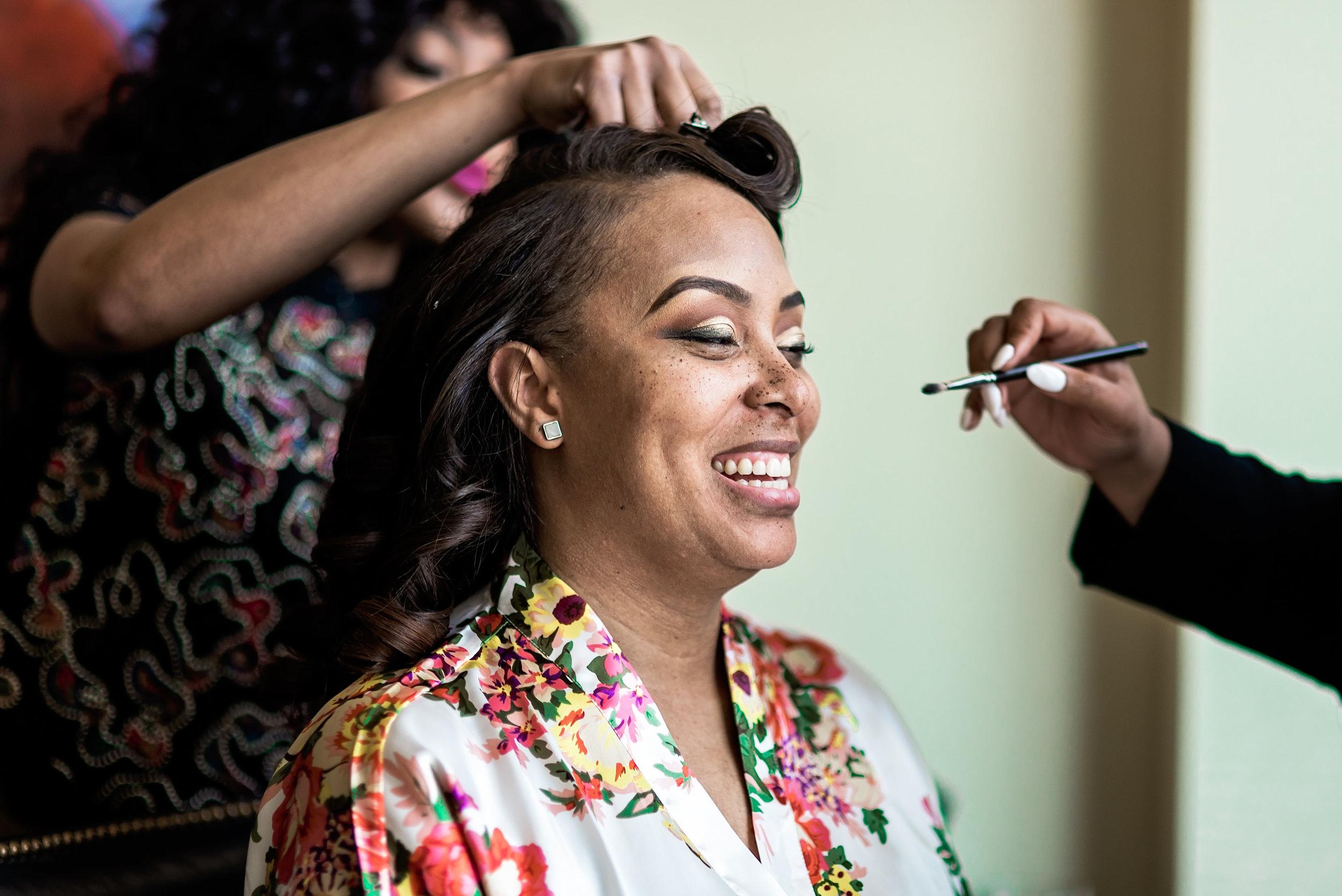 Dallas Wedding, Pharris Photography, Dorian + Chauncy, Bride, Getting Ready