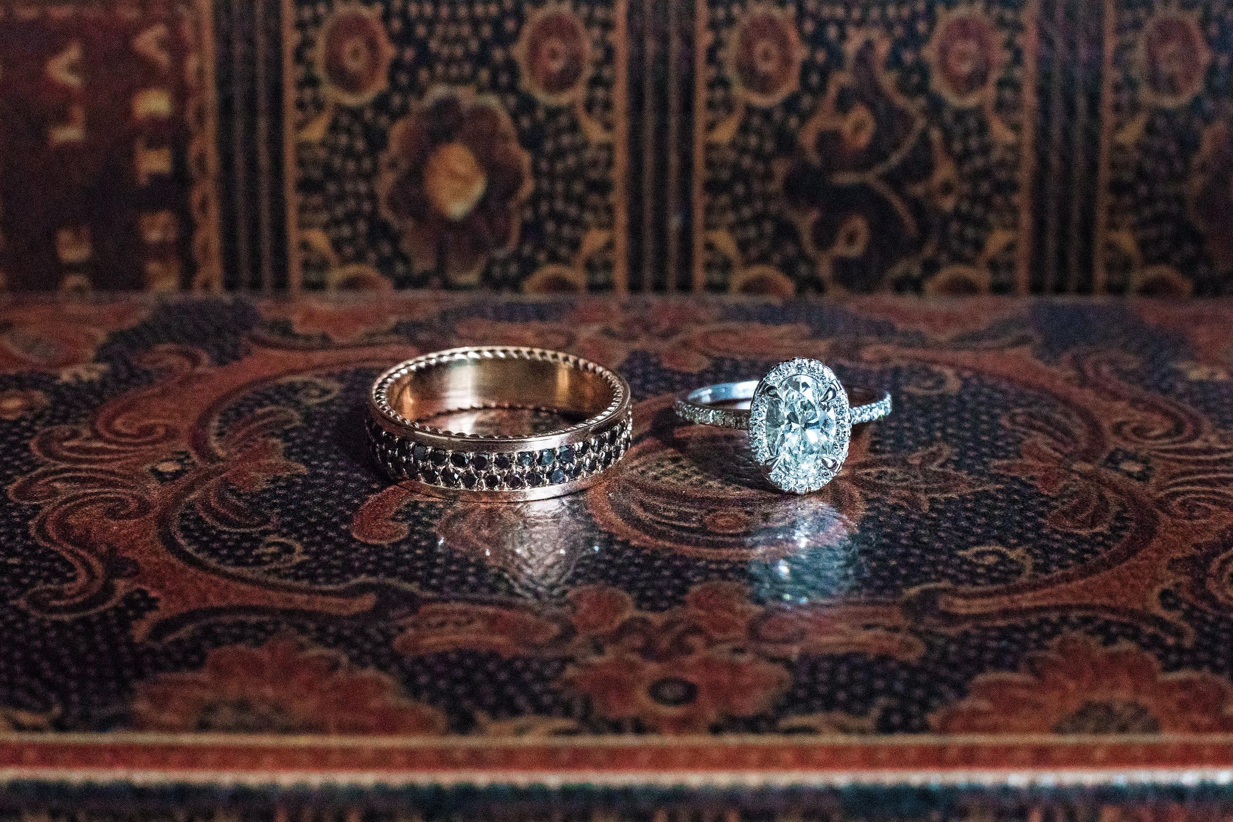 Dallas Wedding- Pharris Photography- Dorian + Chauncy- Wedding Rings- Wedding Details