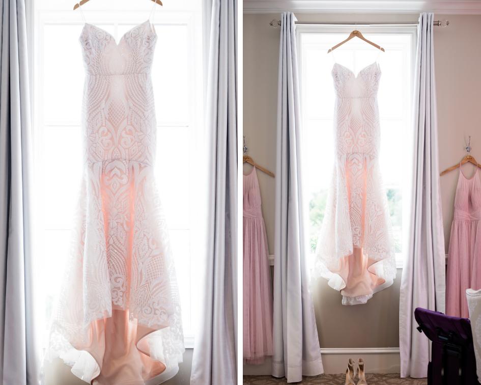 Texas Wedding- Pharris Photography- Megan + Evan- Lace Wedding Dress