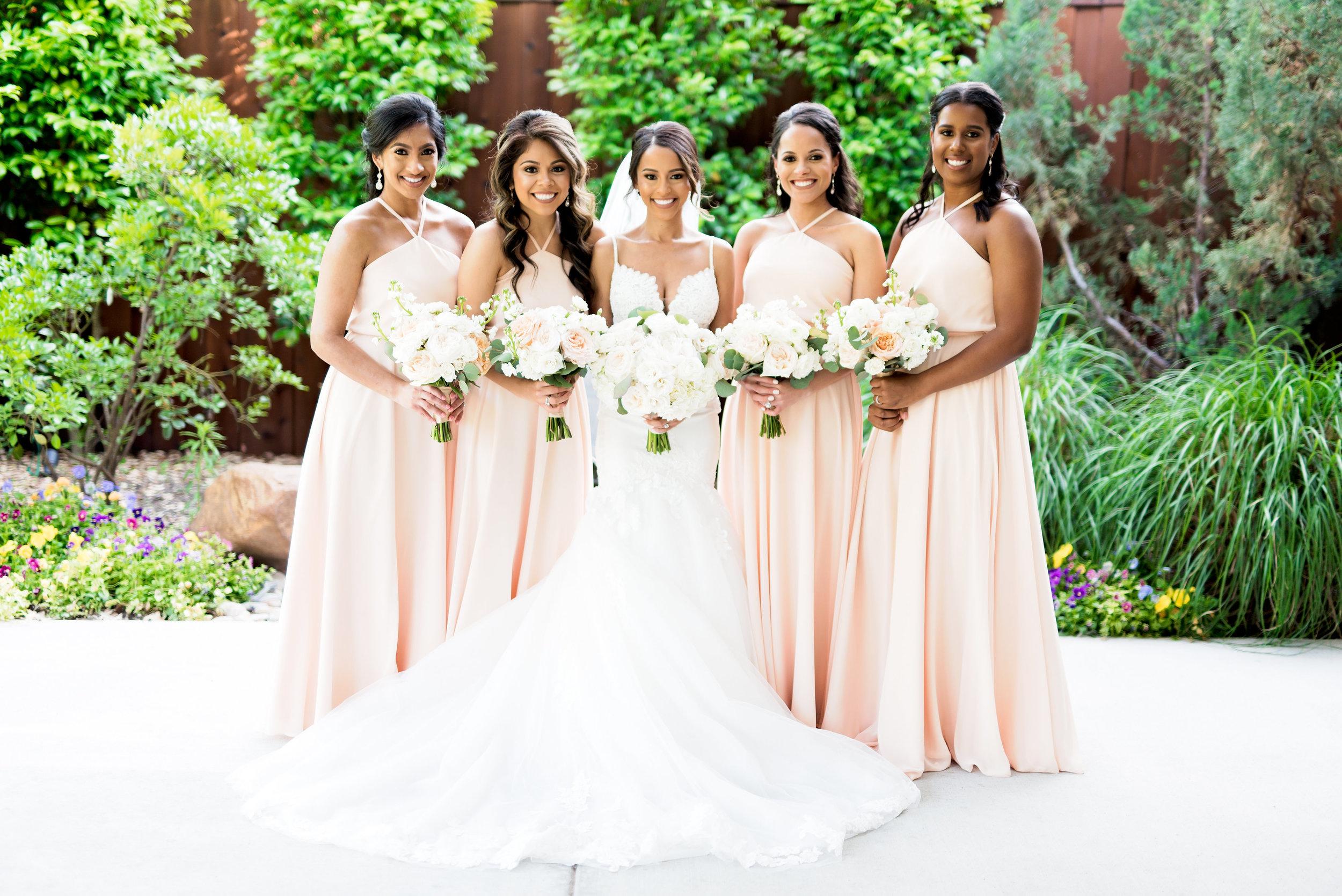 Pharris Photography- Texas Wedding- Noelle + Sullivan- Bridesmaids- Bridal Party- Bride