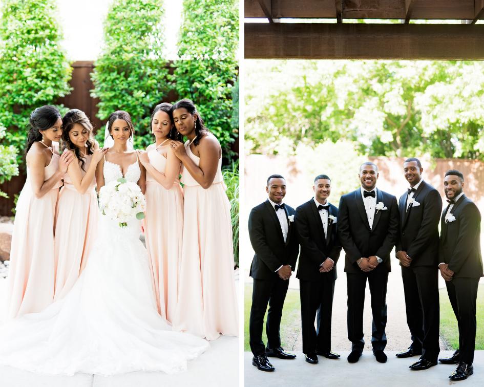 Pharris Photography- Texas Wedding- Noelle + Sullivan- Wedding Party