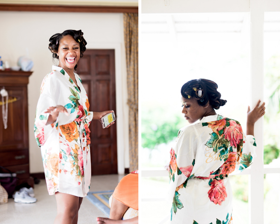 Jamaican Wedding- Pharris Photography- Sheena + Terry- Getting Ready- Bride