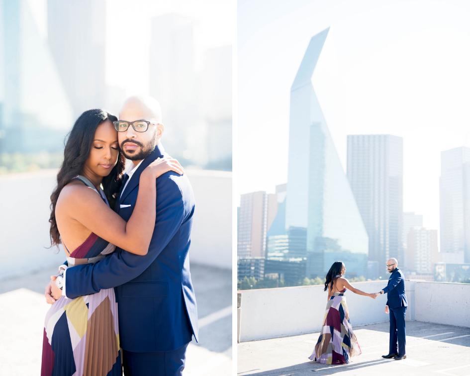 Pharris Photography- Engagement Shoot- Rooftop Engagement- Sophia + Ahmed