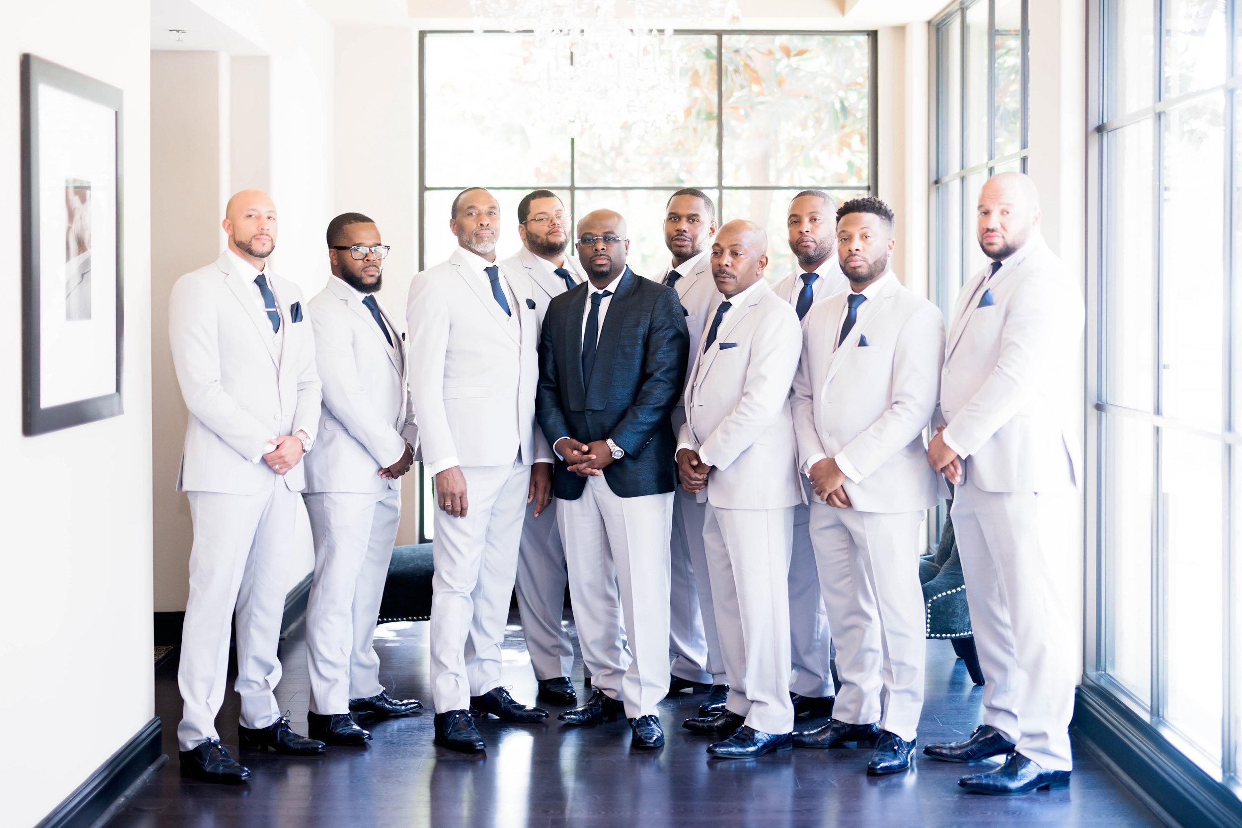 Houston Wedding- Pharris Photography- Nicole + Mike- Groomsmen