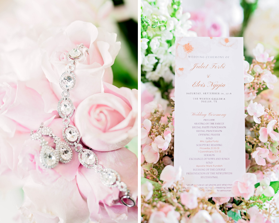 Dallas Wedding- Pharris Photography- Juliet + Elvis- Wedding Details- Jewelry- Wedding Invitation