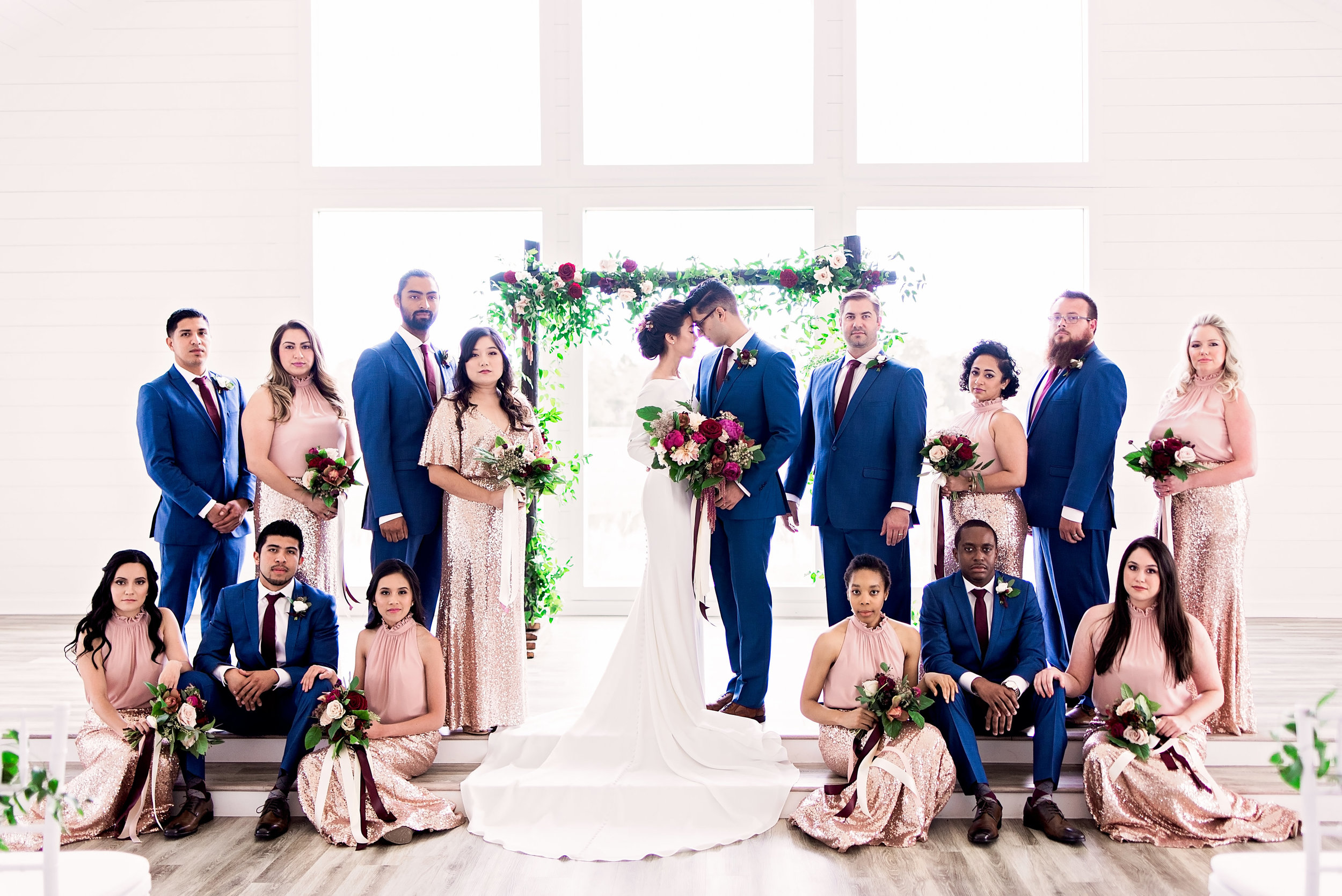 Pharris Photography- Texas Wedding- Melody and Moses- Wedding Party