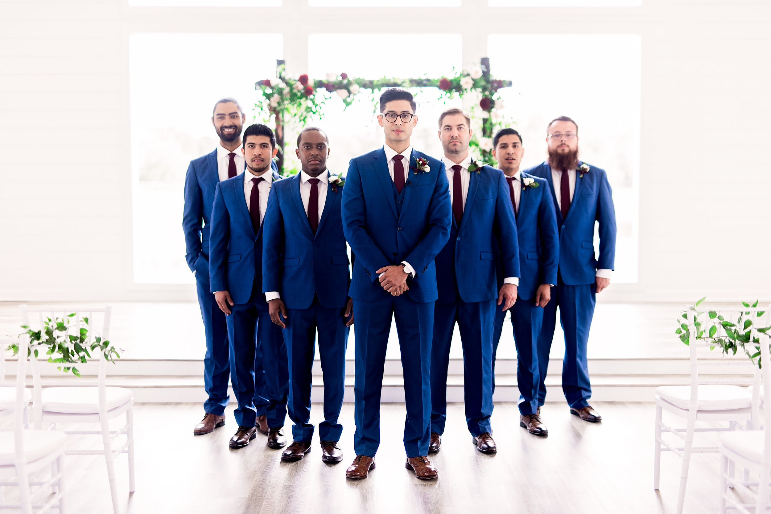 Pharris Photography- Texas Wedding- Melody and Moses- Groomsmen