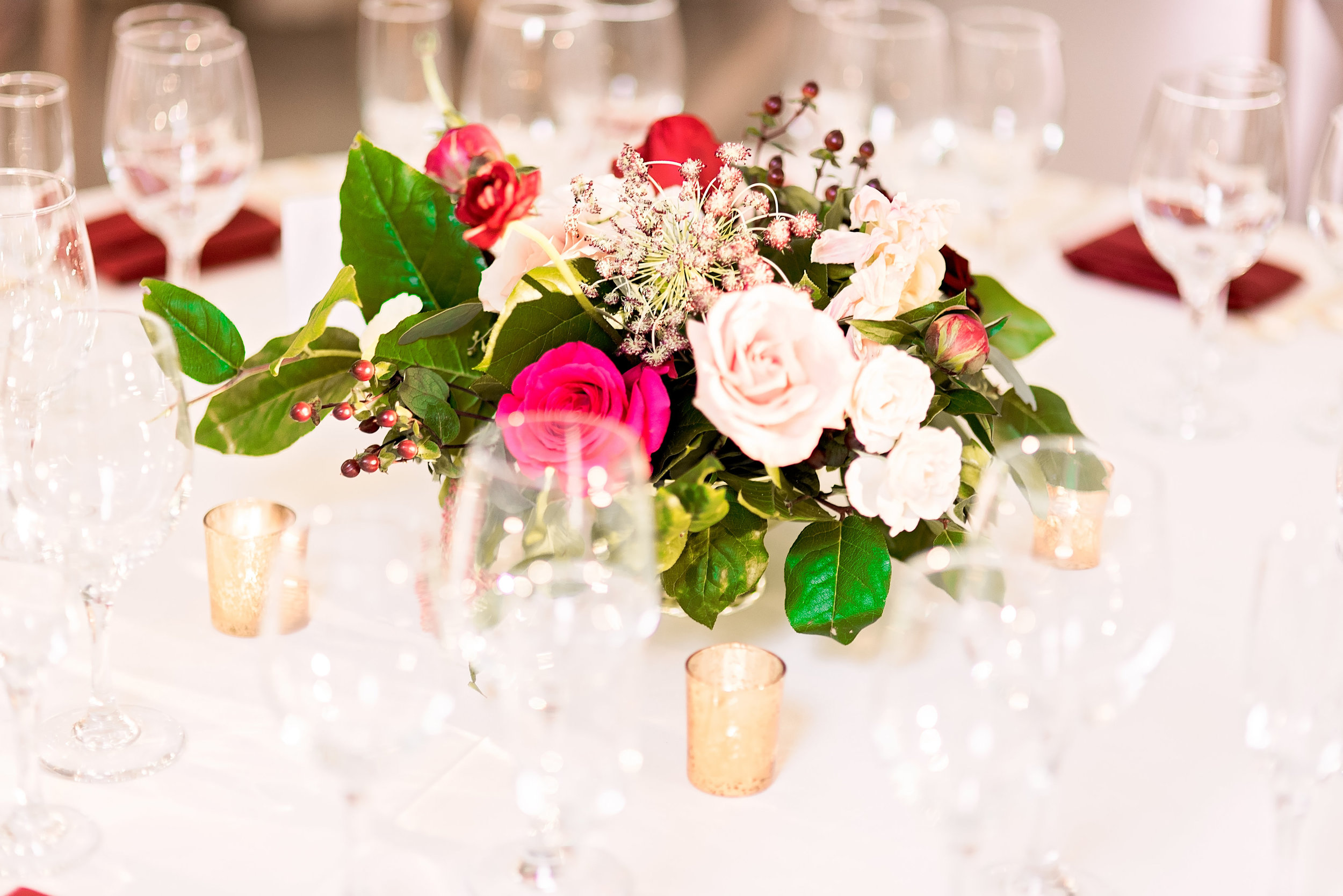 Texas Wedding- Pharris Photography- Melody + Moses- Wedding Details- Floral Centerpiece