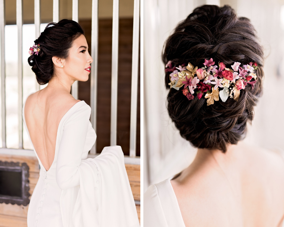 Pharris Photography- Texas Wedding- Melody and Moses- Wedding Hair