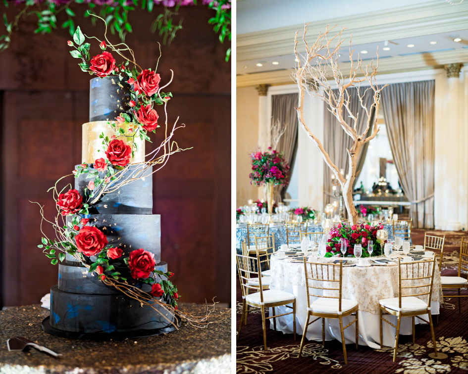 Pharris Photography- Houston Wedding- Krystyn and Joshual- Texas Wedding- Wedding Cake- Wedding Decor- Wedding Details- Place Settings