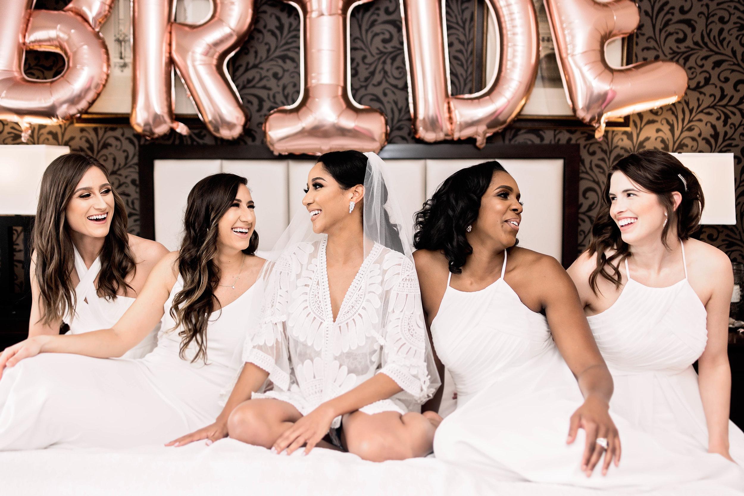 Houston Wedding- Pharris Photography- Getting Ready- Natalie + Mark- Bridesmaids