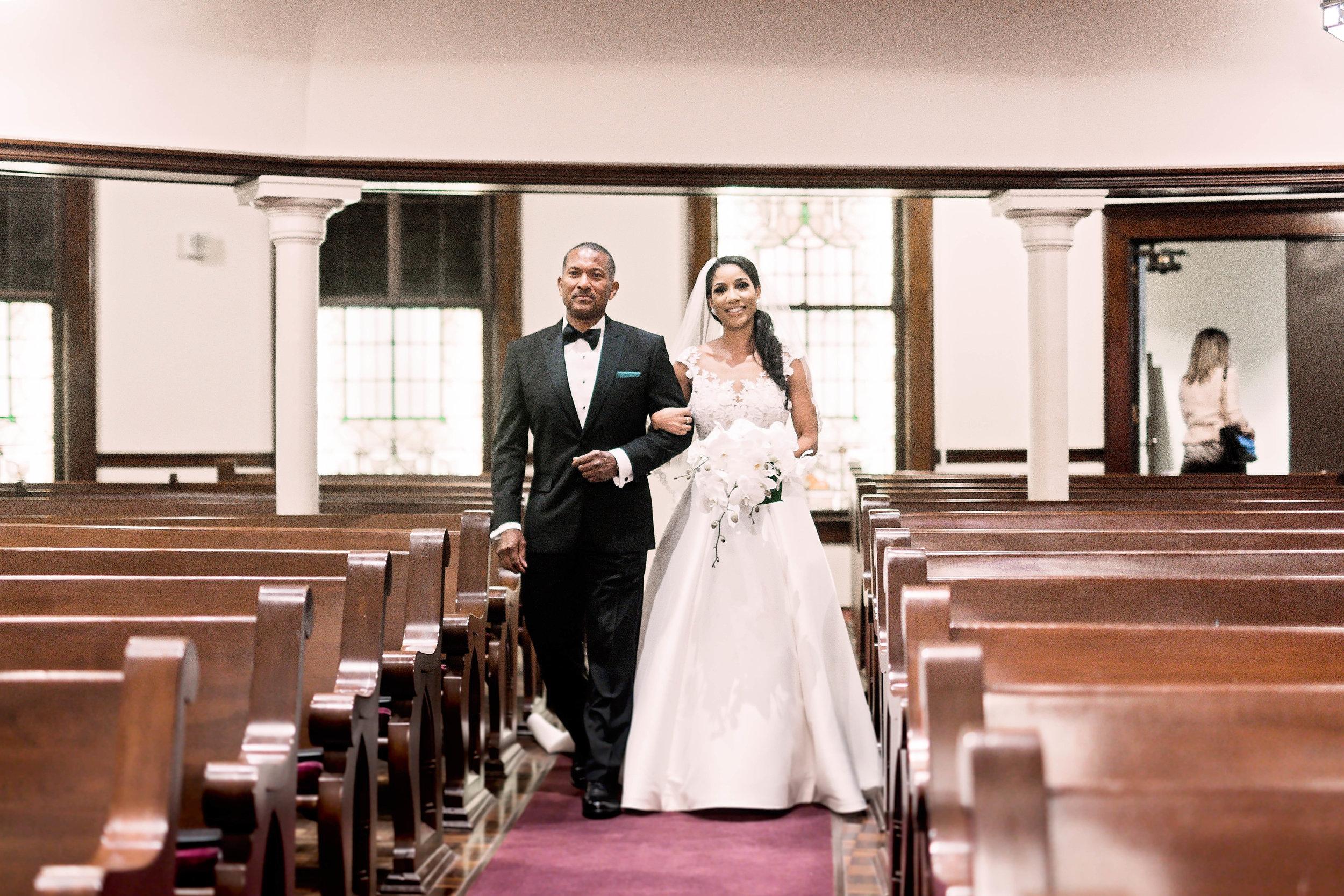Houston Wedding- Pharris Photography- Ceremony- Natalie + Mark- Father & Bride