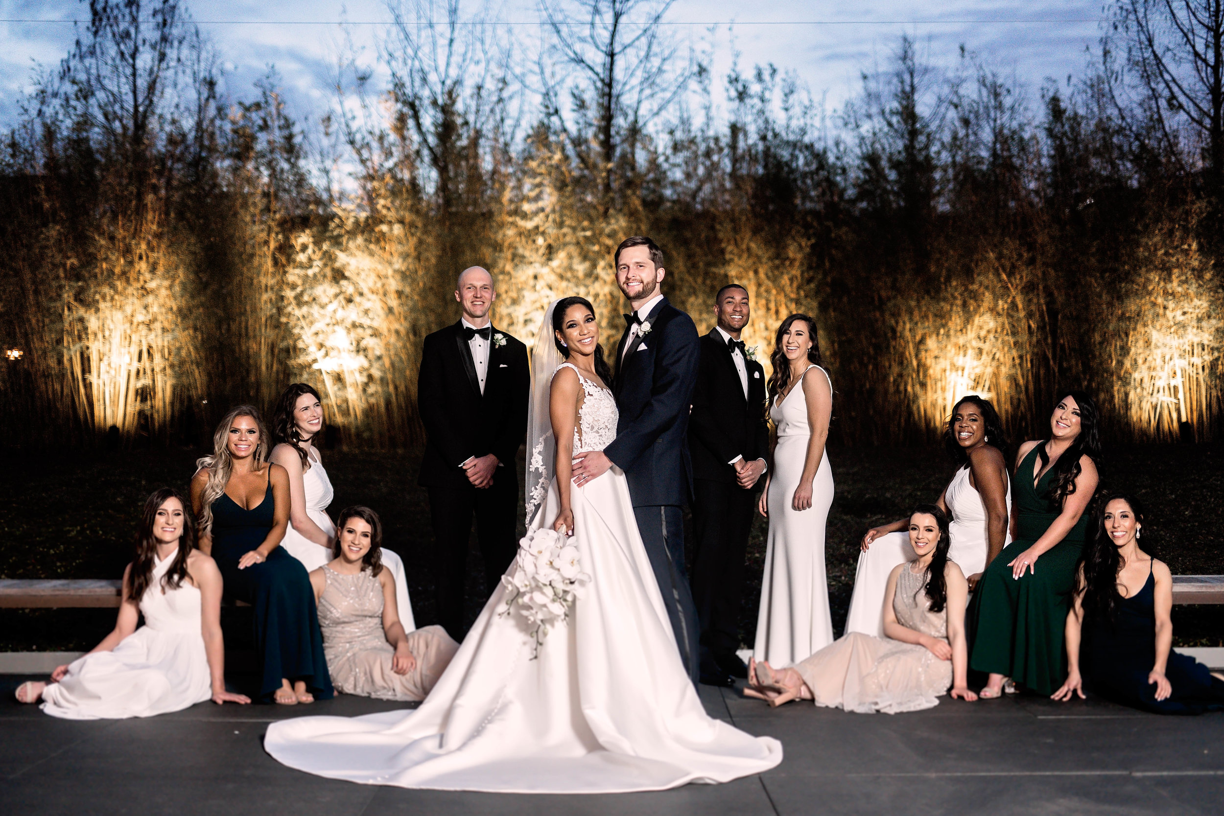 Houston Wedding- Pharris Photography- Ceremony- Natalie + Mark- Bridesmaids- Bridal Party