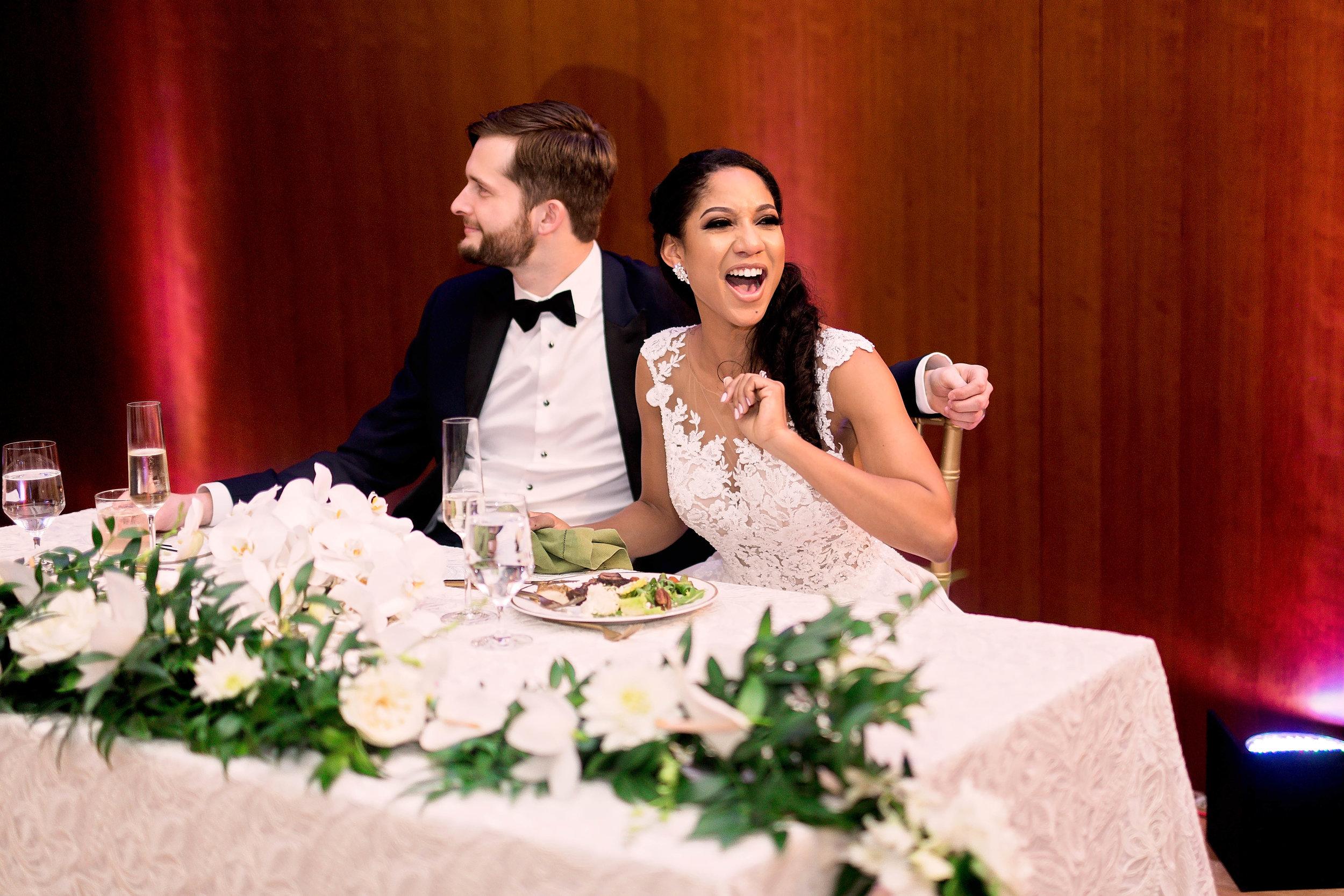 Houston Wedding- Pharris Photography- Reception- Natalie + Mark- Bride & Groom