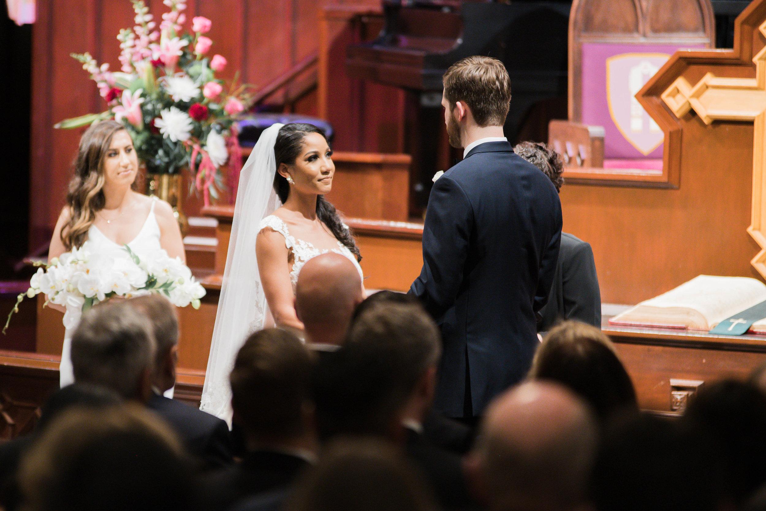 Houston Wedding- Pharris Photography- Ceremony- Natalie + Mark- Vows- The Altar