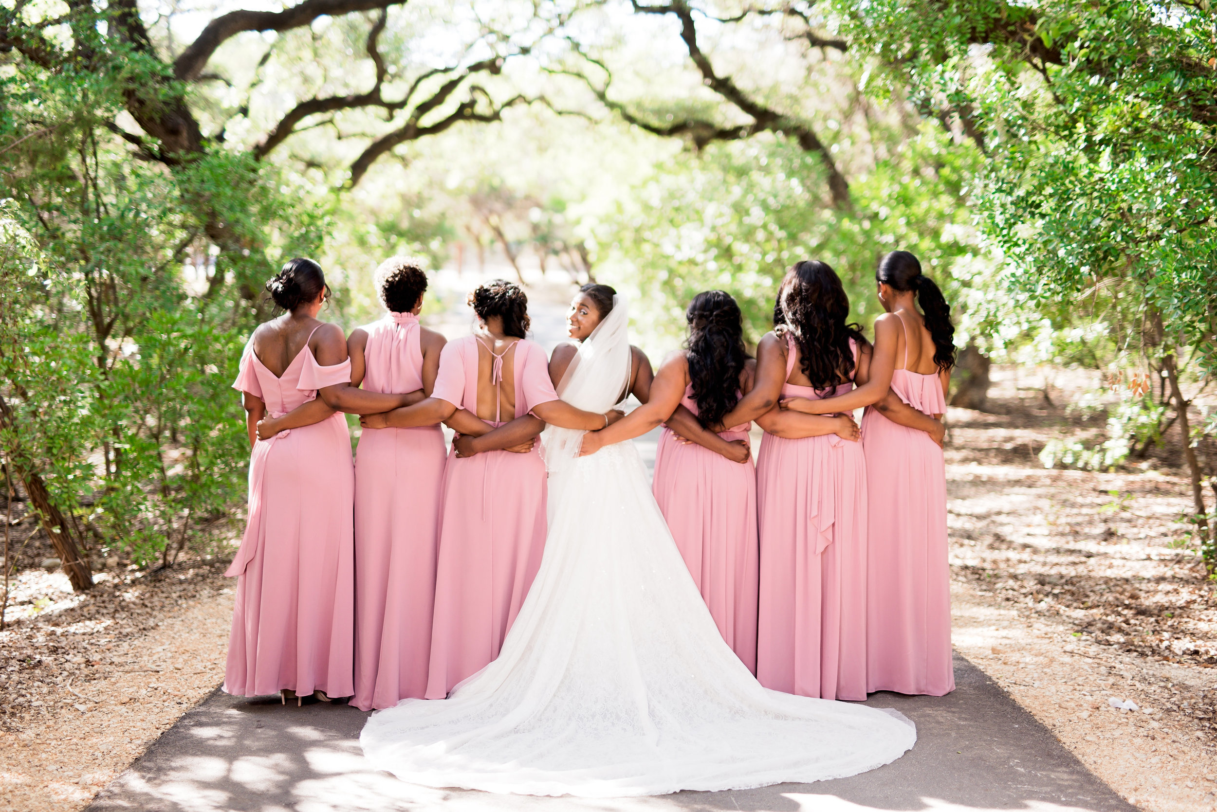 New Braunfels Wedding- Pharris Photography- Ceremony- Adrianna + Kevin- Bridal Party