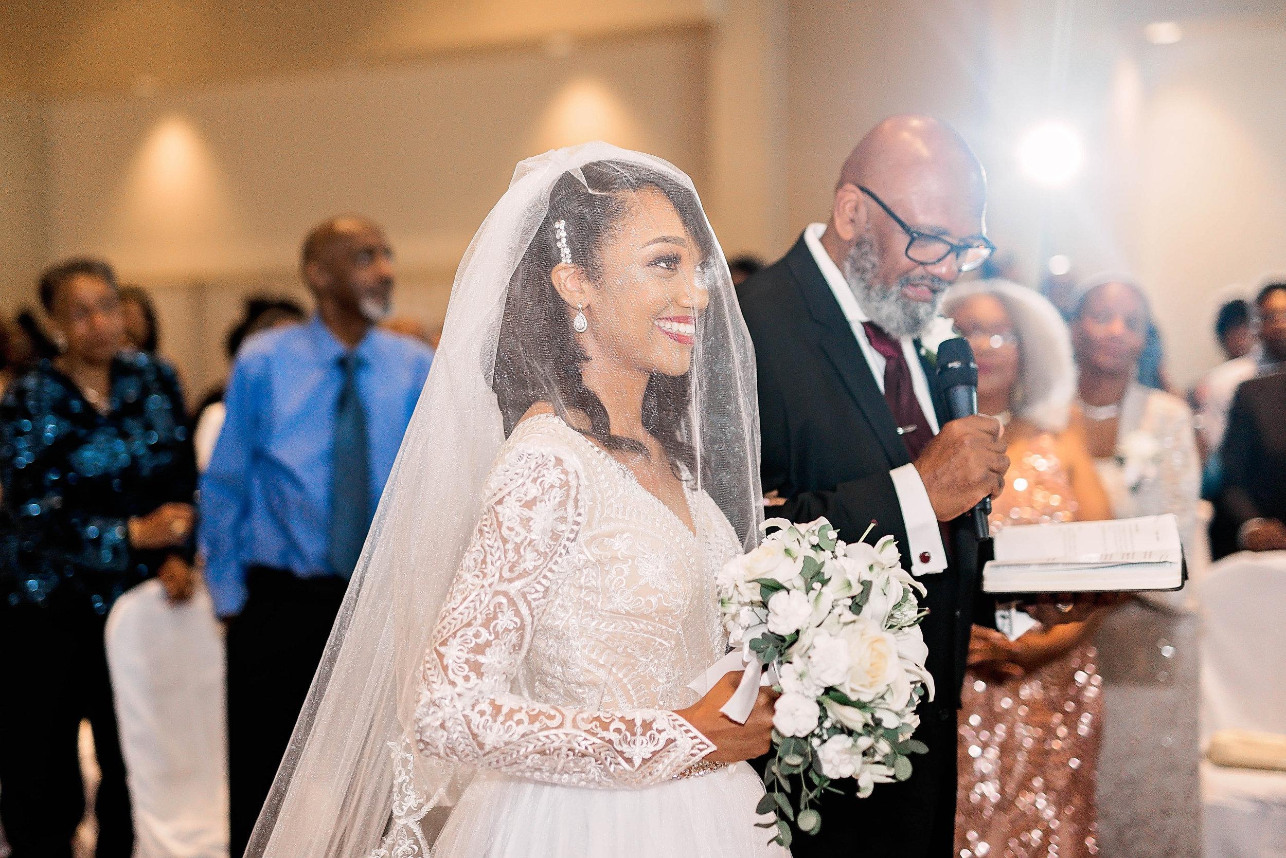 Dallas Wedding- Pharris Photography- Ceremony- Kaimyn + Ezra- The Altar