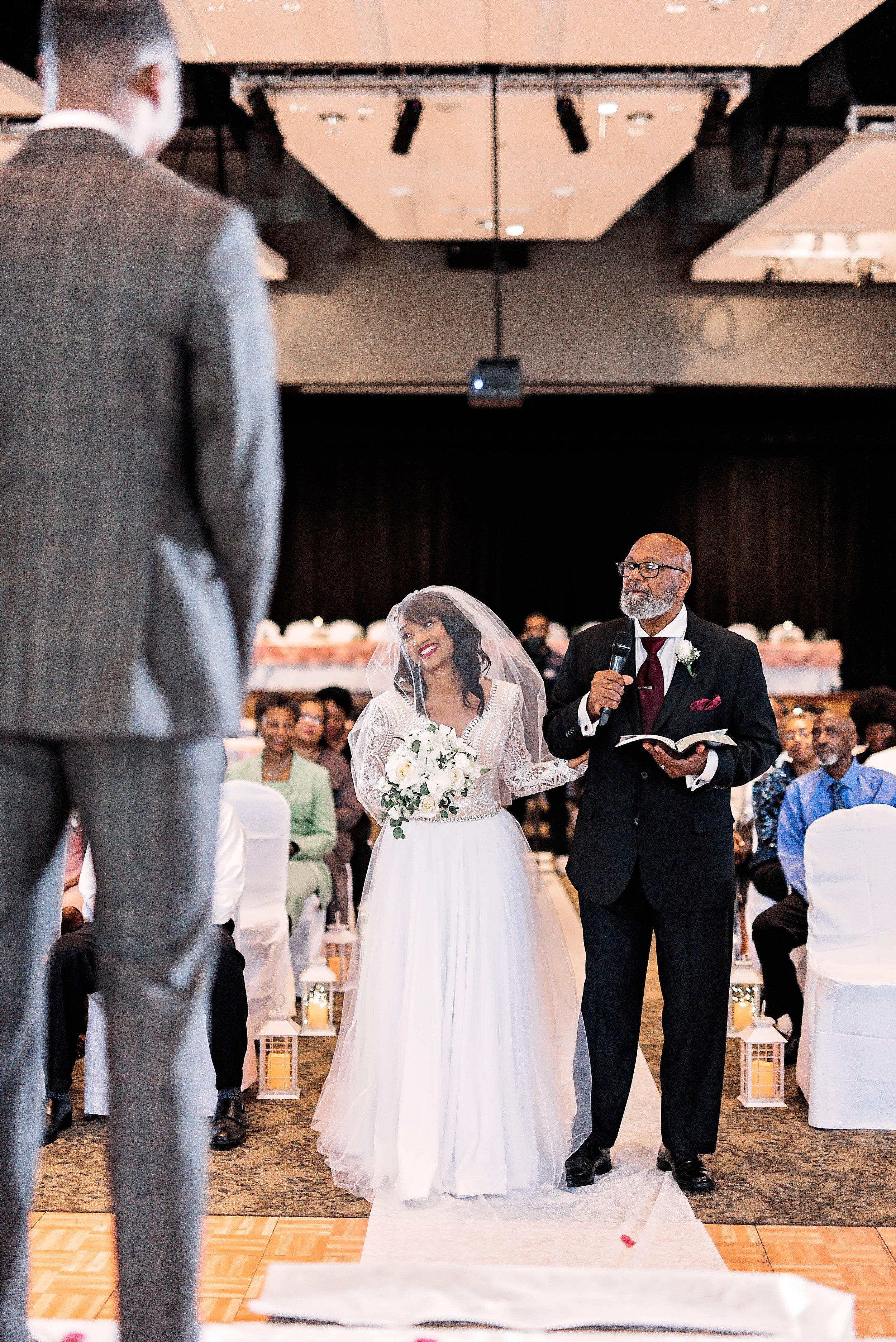 Dallas Wedding- Pharris Photography- Ceremony- Kaimyn + Ezra