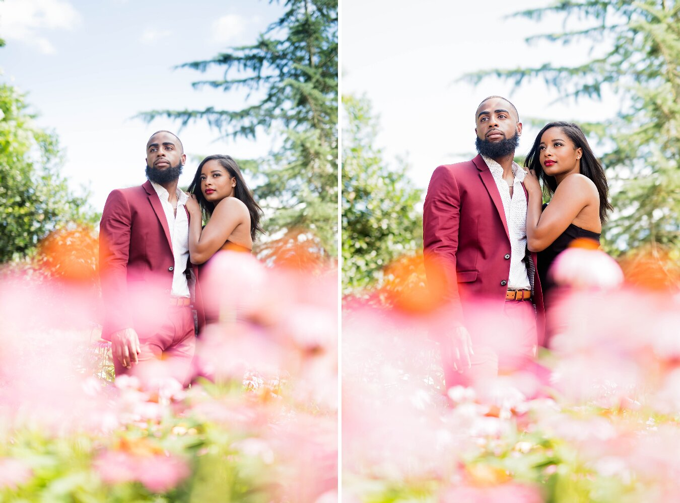 Dallas Engagement- Pharris Photography- Engagement Session- Dallas Arboretum and Botanical Garden- Brittany + Courtlan