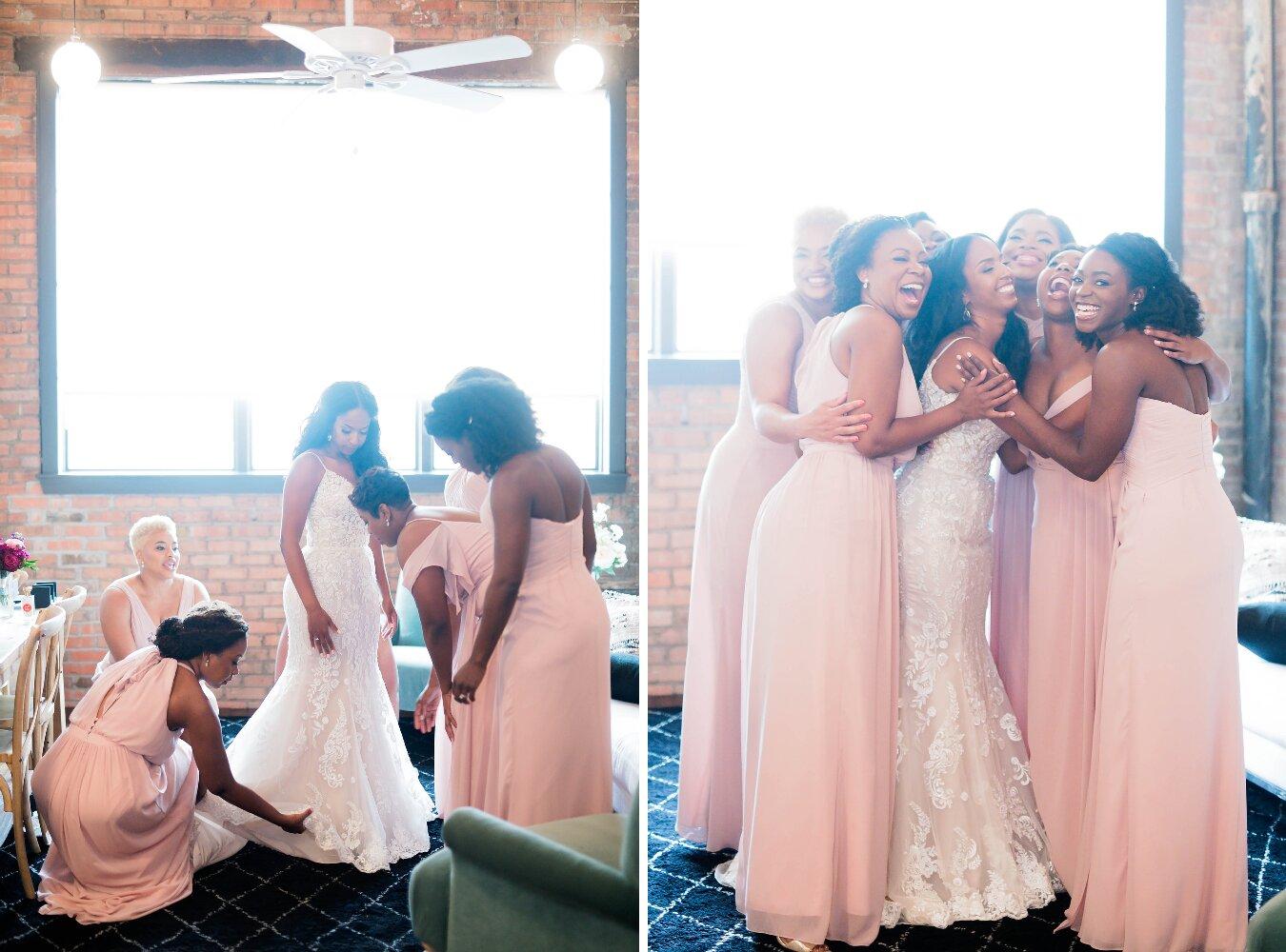 Dallas Wedding- Pharris Photography- Getting Ready- Sophie + Kellen -Bridesmaids