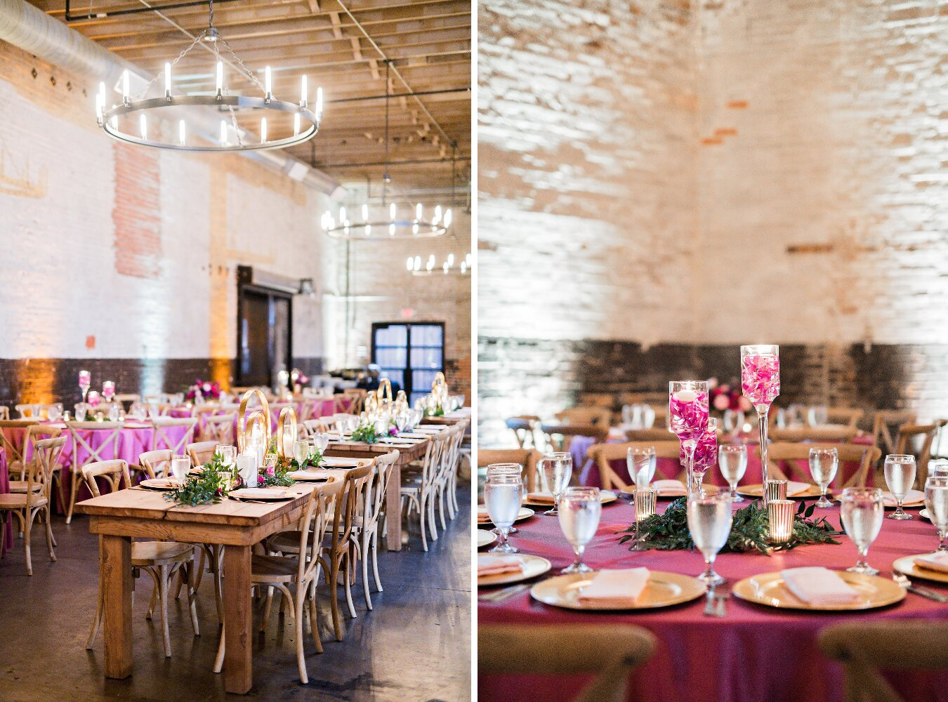 Dallas Wedding- Pharris Photography- Reception- Sophie + Kellen- Reception Room- Tablescape- Table Decor