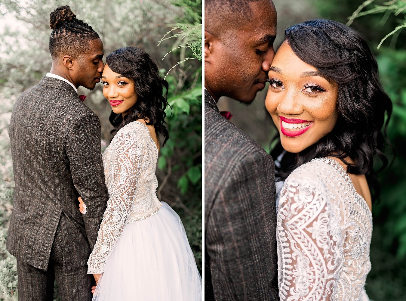 Dallas Wedding- Pharris Photography- Couple- Aaqila + Najee- Bride & Groom