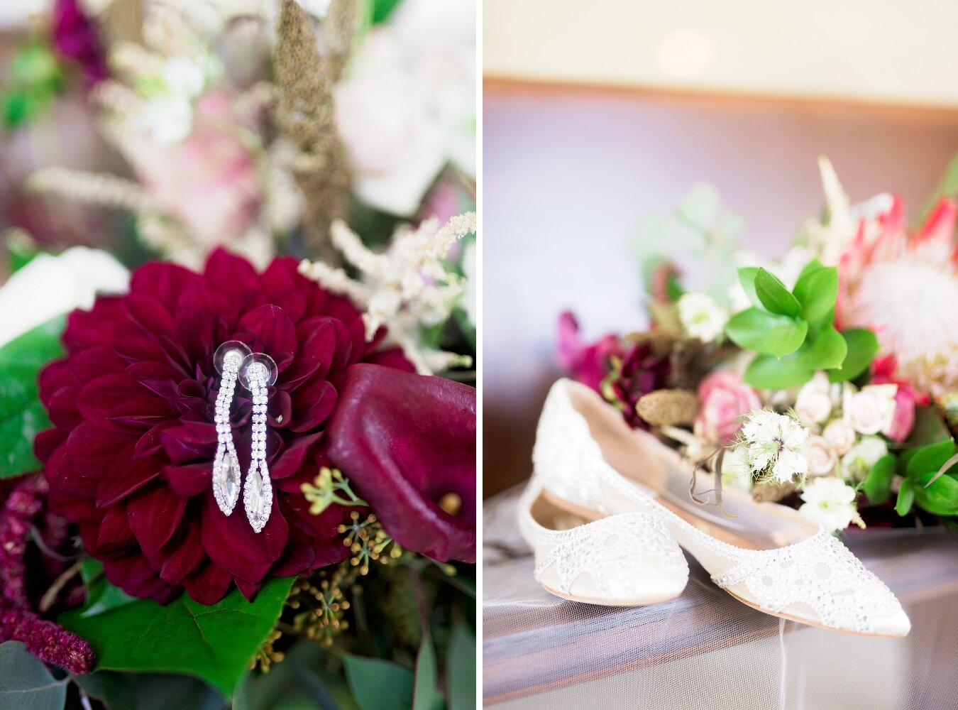 New Braunfels Wedding- Pharris Photography- Details- Adrianna + Kevin- Jewelry- Earrings- Wedding Shoes