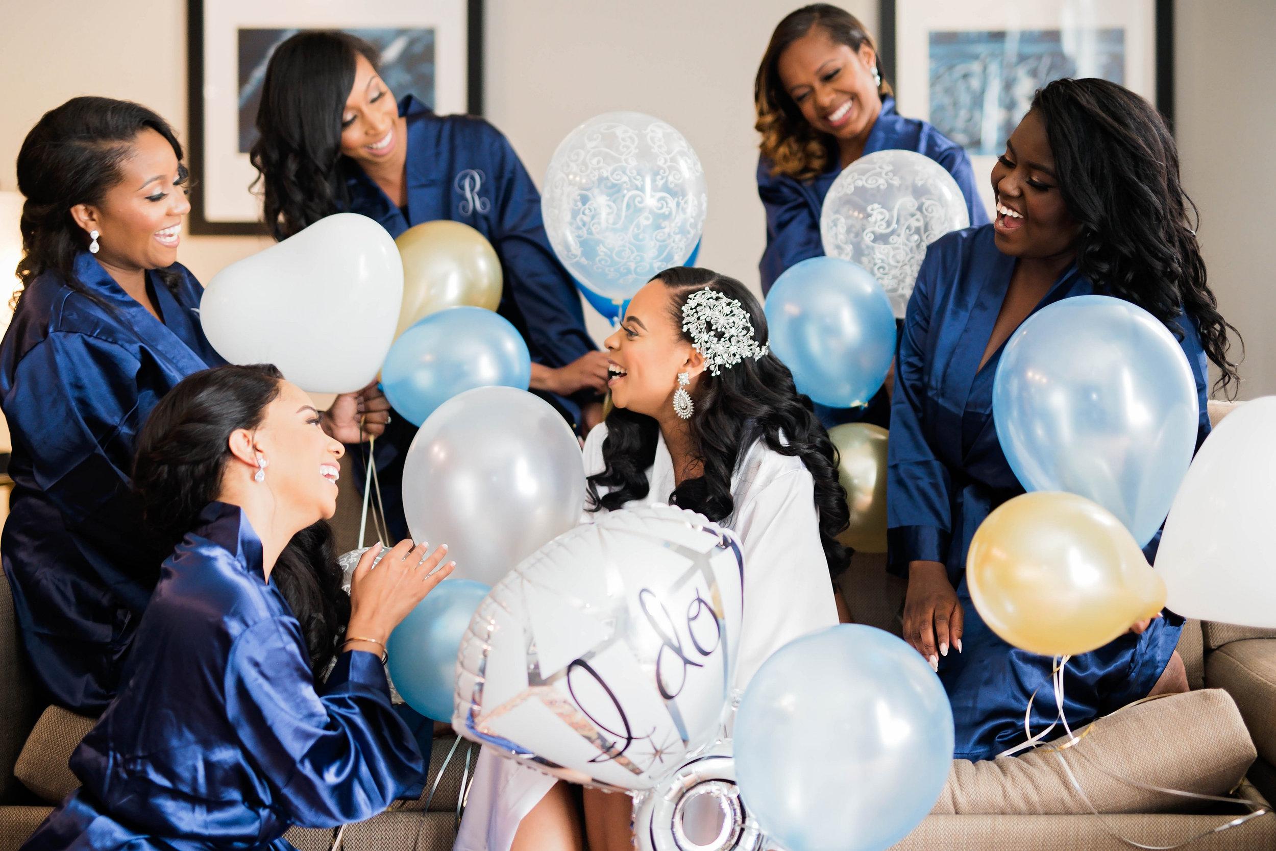 Tulsa Wedding- Pharris Photography- Getting Ready- Darla + Quinton- Bridesmaids