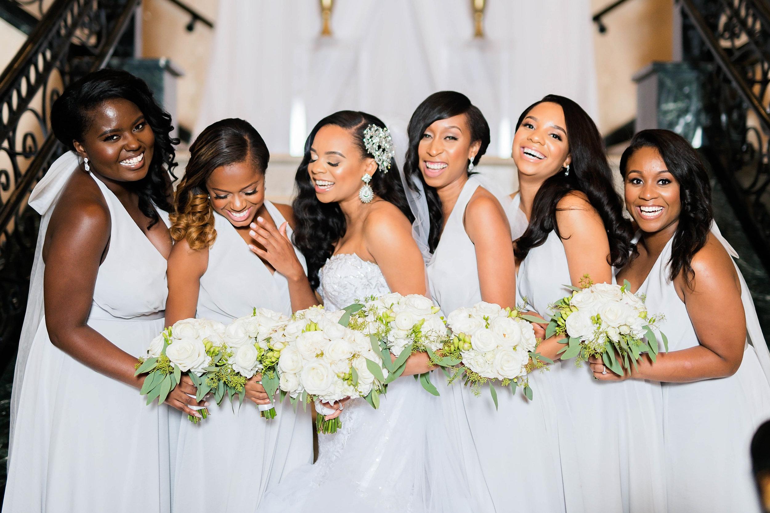 Tulsa Wedding- Pharris Photography- Darla + Quinton- Bridesmaids