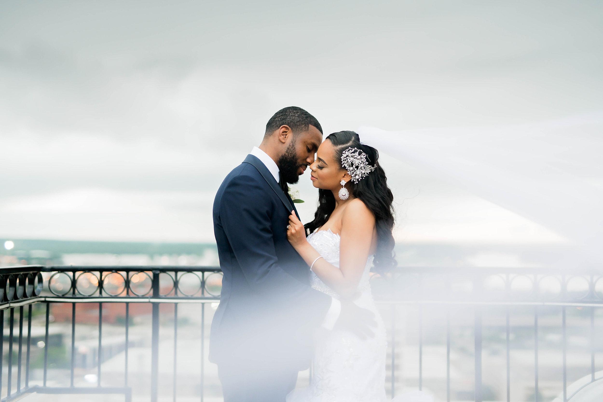 Tulsa Wedding- Pharris Photography- Couple- Darla + Quinton- Bride & Groom