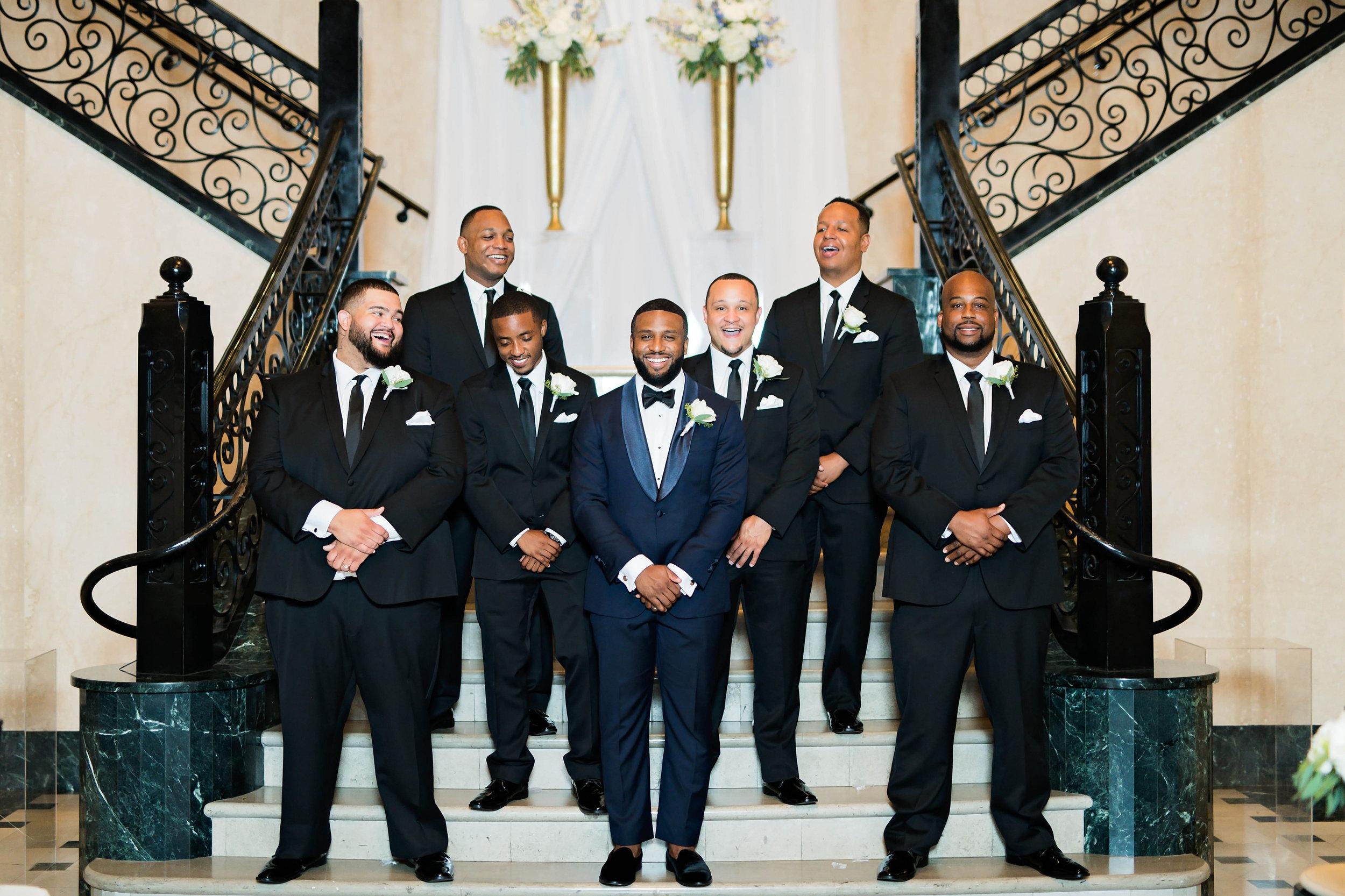Tulsa Wedding- Pharris Photography- Darla + Quinton- Groomsmen