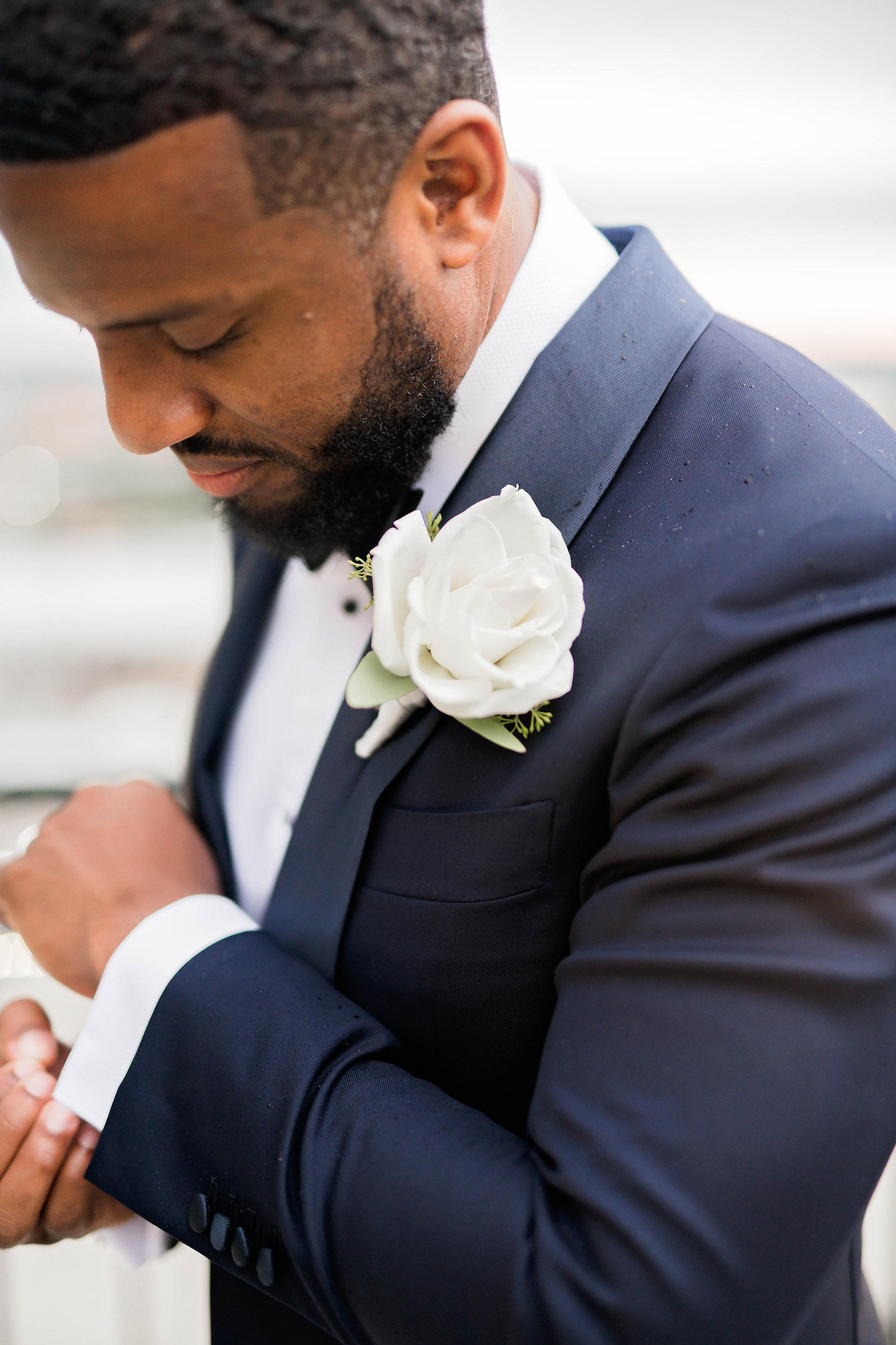 Tulsa Wedding- Pharris Photography- Couple- Darla + Quinton- Groom