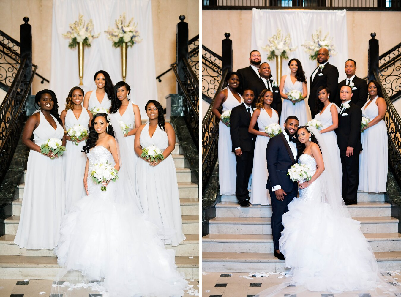 Tulsa Wedding- Pharris Photography- Darla + Quinton- Bridesmaids- Bridal Party