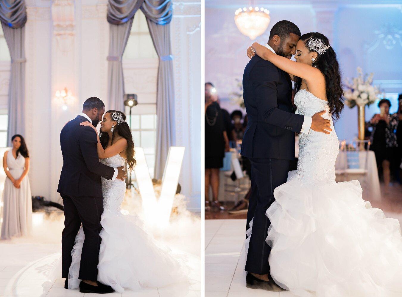 Tulsa Wedding- Pharris Photography- Reception- Darla + Quinton- First Dance