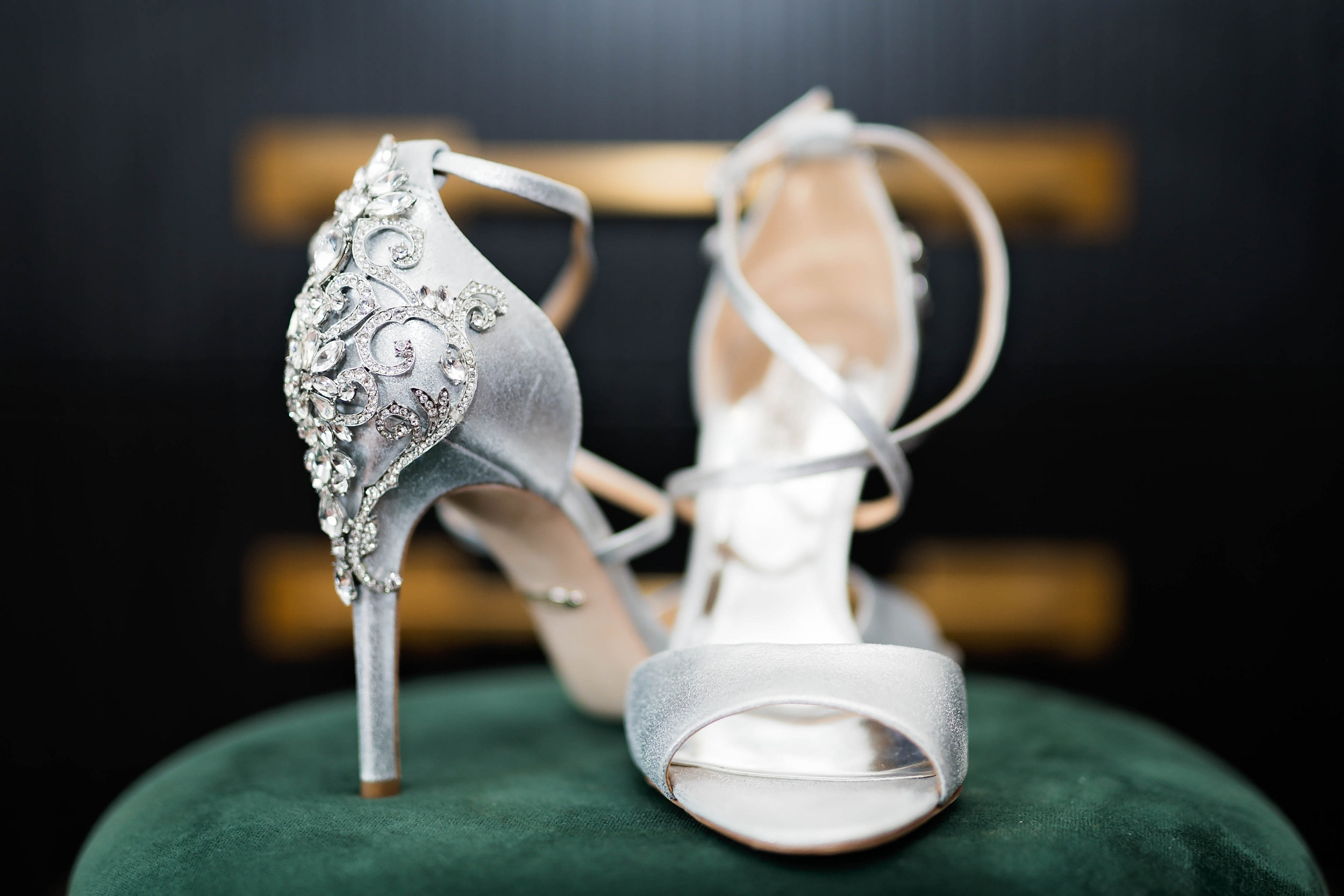 Tulsa Wedding- Pharris Photography- Details- Darla + Quinton- Shoes