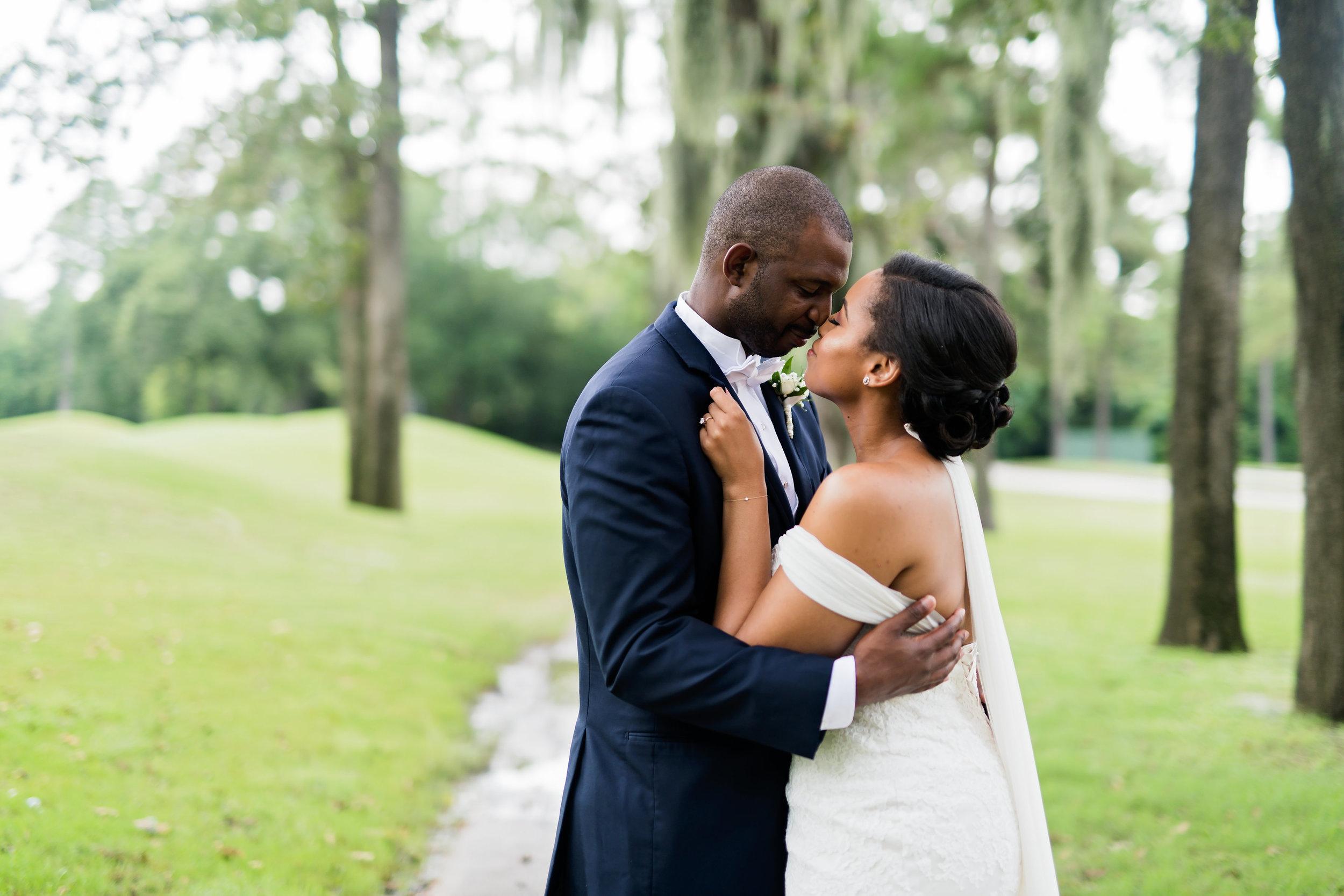 Houston Wedding- Pharris Photography- Couple- Kristin + Robert- Bride & Groom