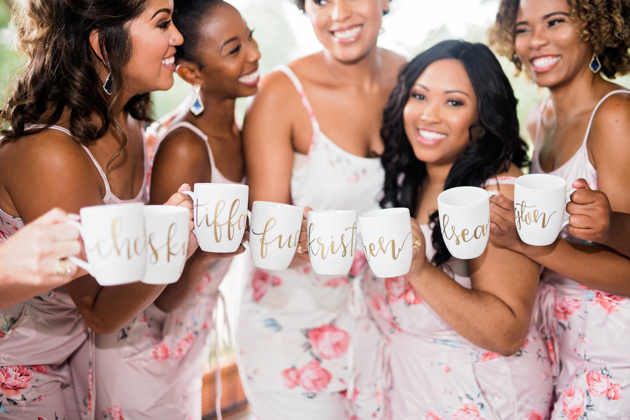 Houston Wedding- Pharris Photography- Getting Ready- Kristin + Robert- Bridesmaids
