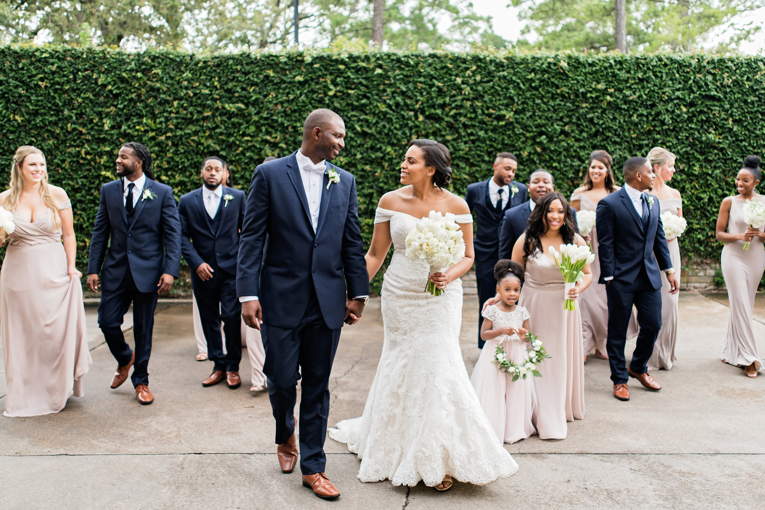 Houston Wedding- Pharris Photography- Ceremony- Kristin + Robert- Bridal Party