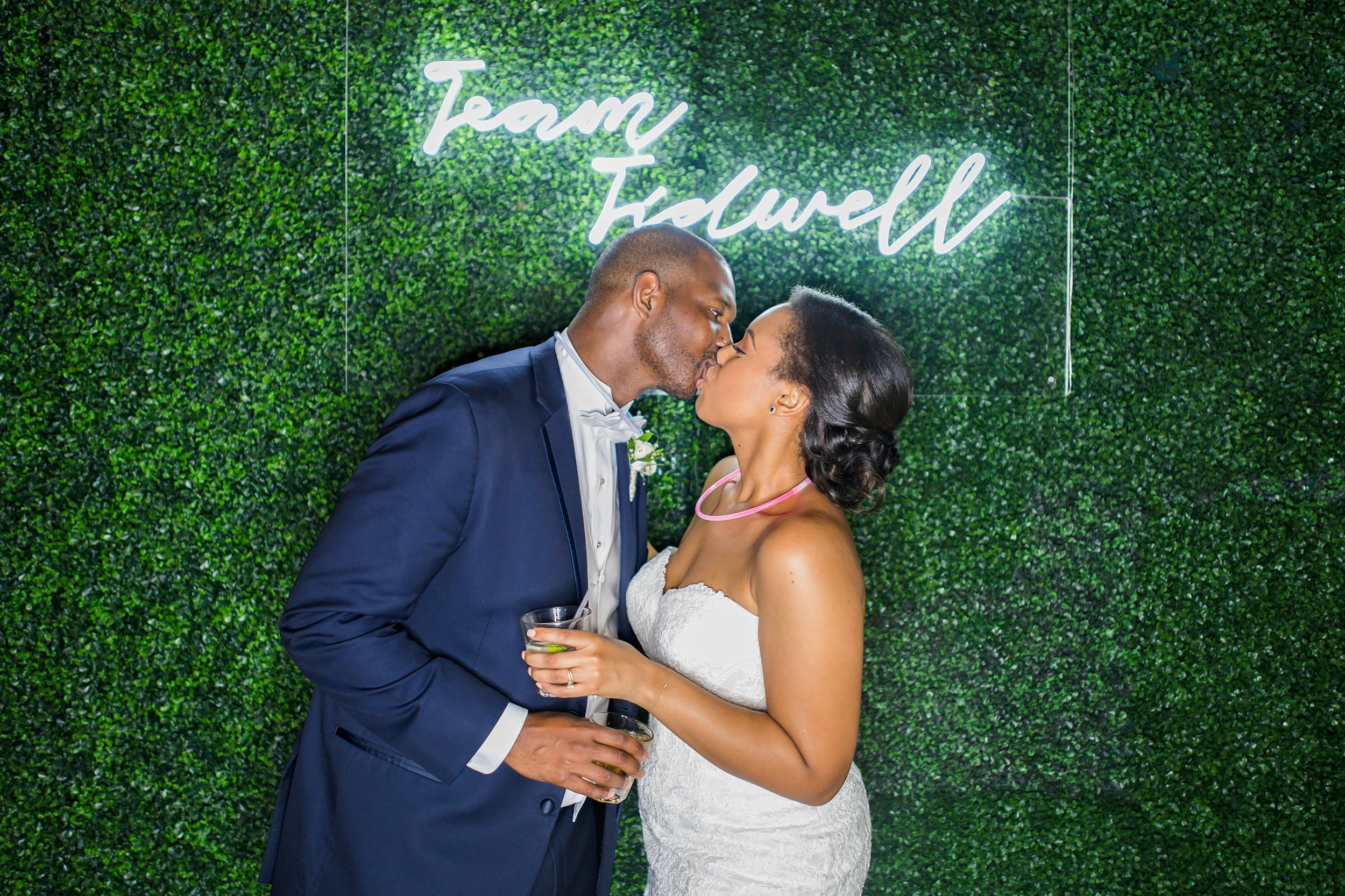 Houston Wedding- Pharris Photography- Reception- Kristin + Robert- Bride & Groom