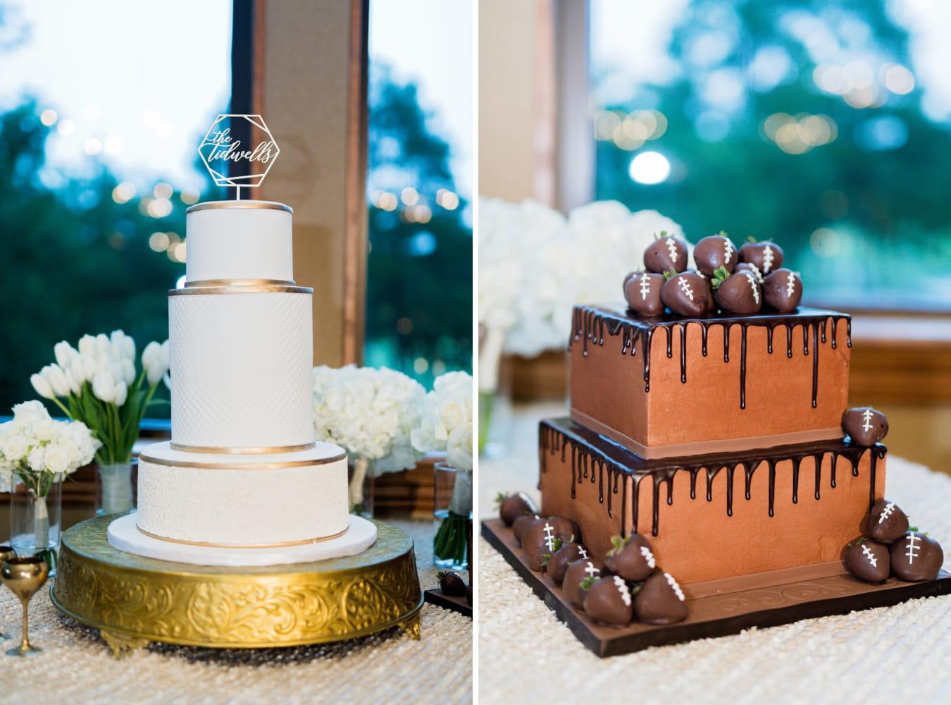 Houston Wedding- Pharris Photography- Reception- Kristin + Robert- Wedding Cake