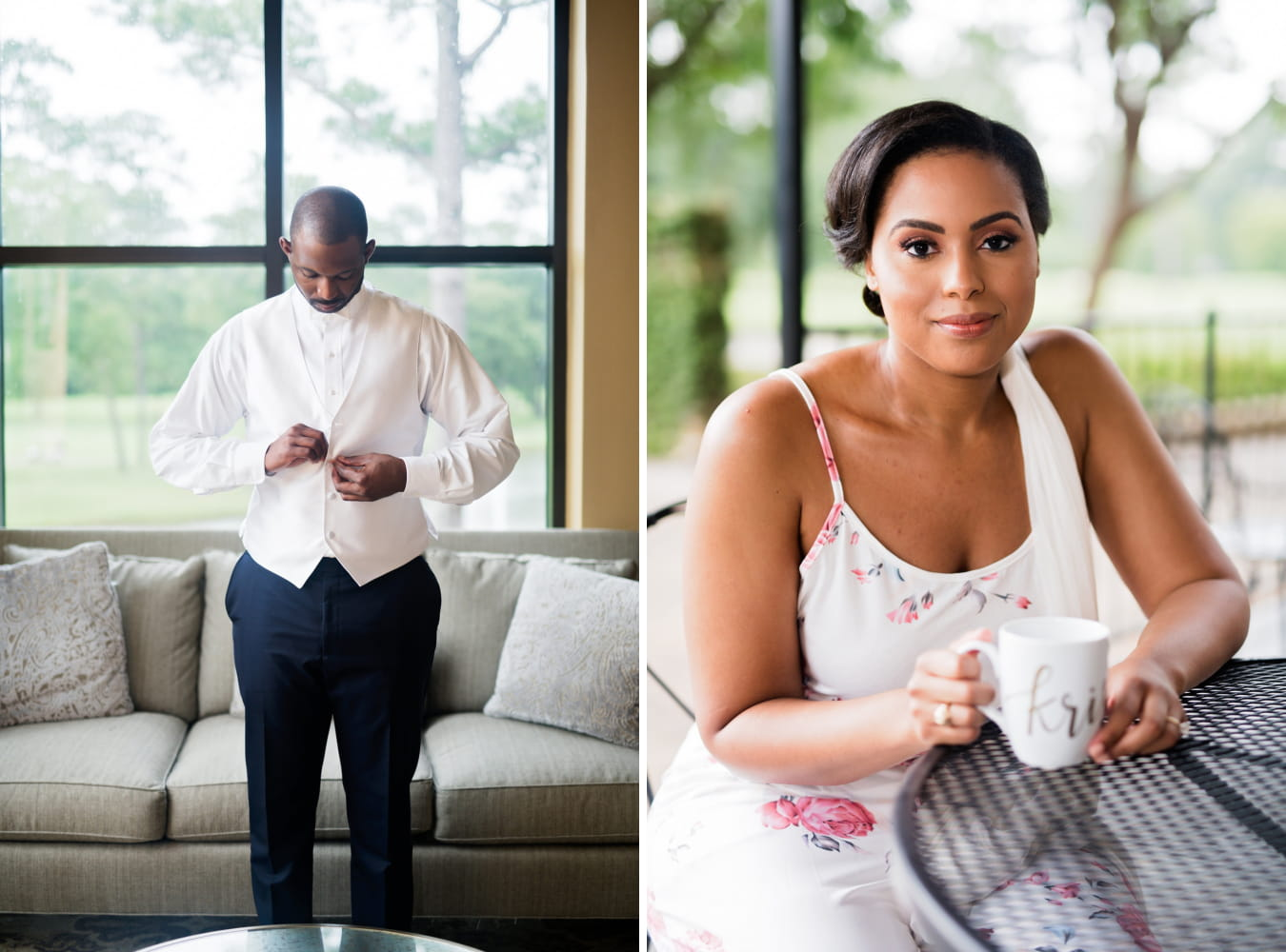 Houston Wedding- Pharris Photography- Getting Ready- Kristin + Robert -Bride- Groom