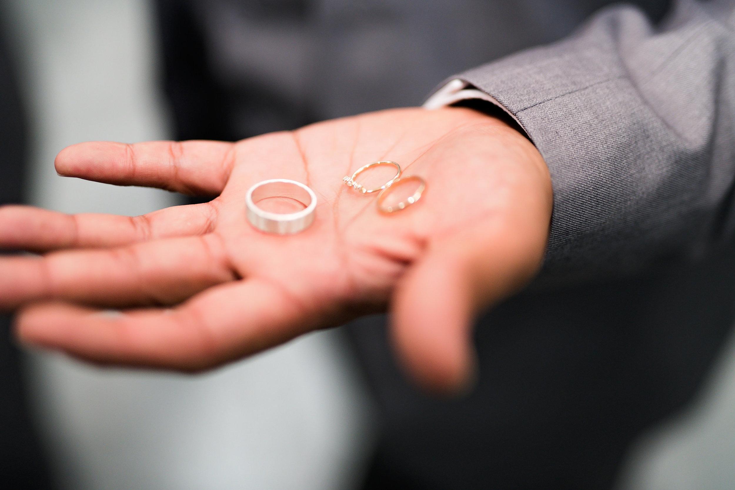 Houston Wedding- Pharris Photography- Details- Lorece + Jeremy- Jewelry- Wedding Rings