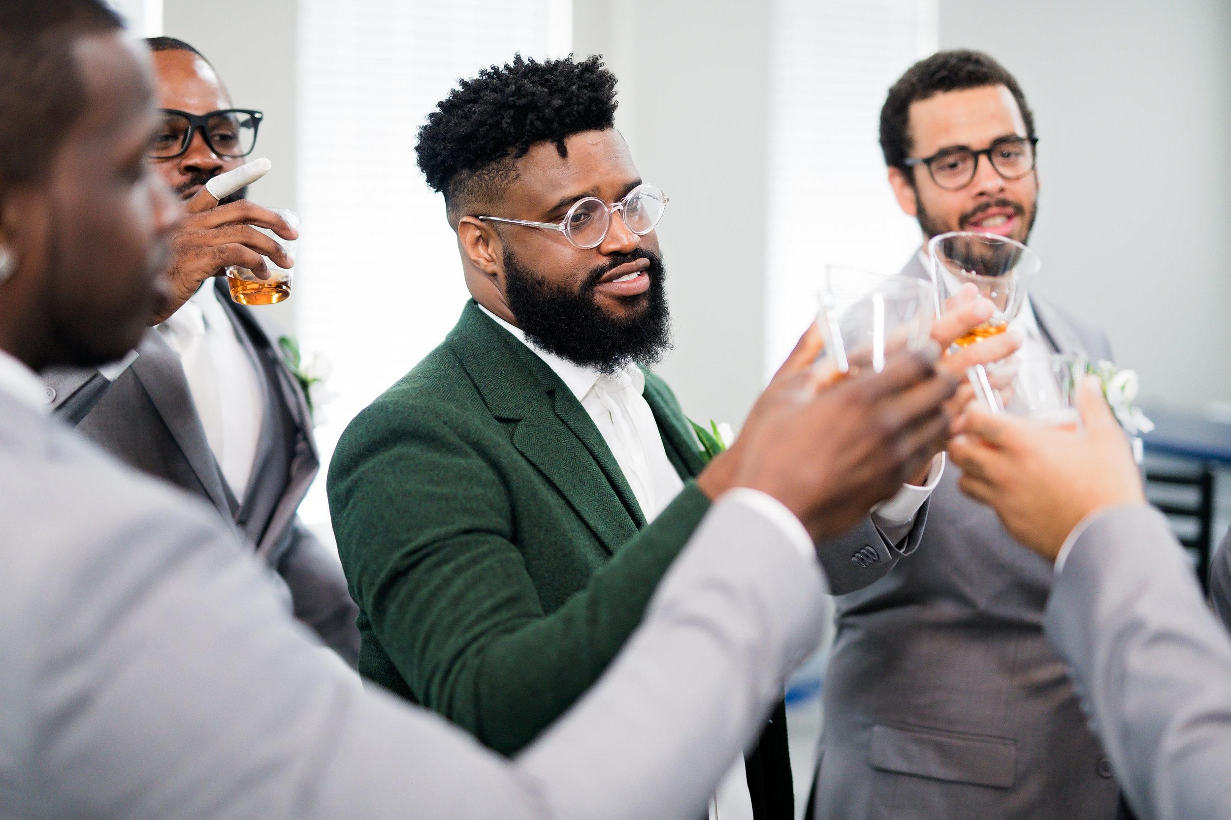 Houston Wedding- Pharris Photography- Getting Ready-Lorece + Jeremy- Groom
