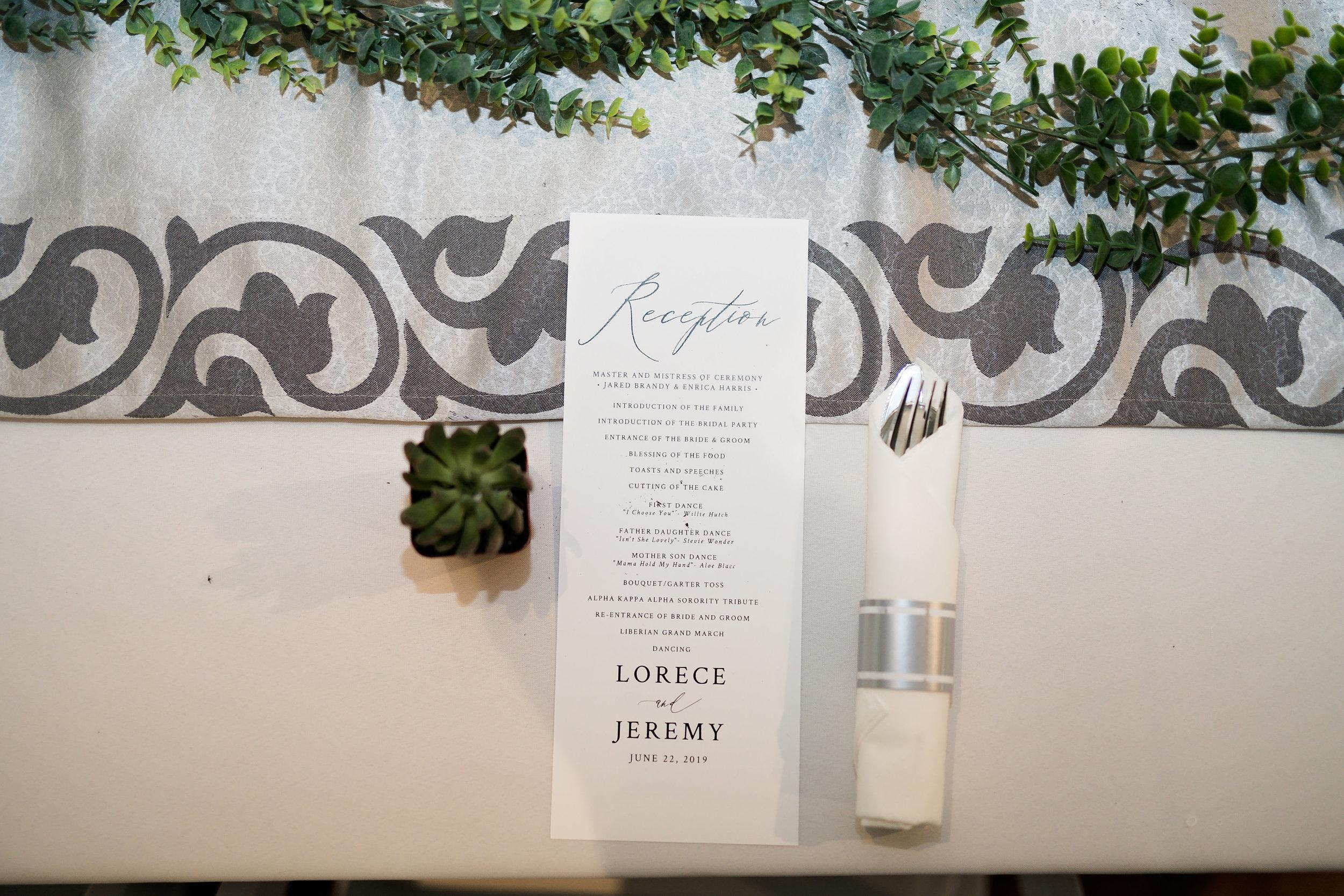 Houston Wedding- Pharris Photography- Reception- Lorece + Jeremy- Tablescape- Table Decor