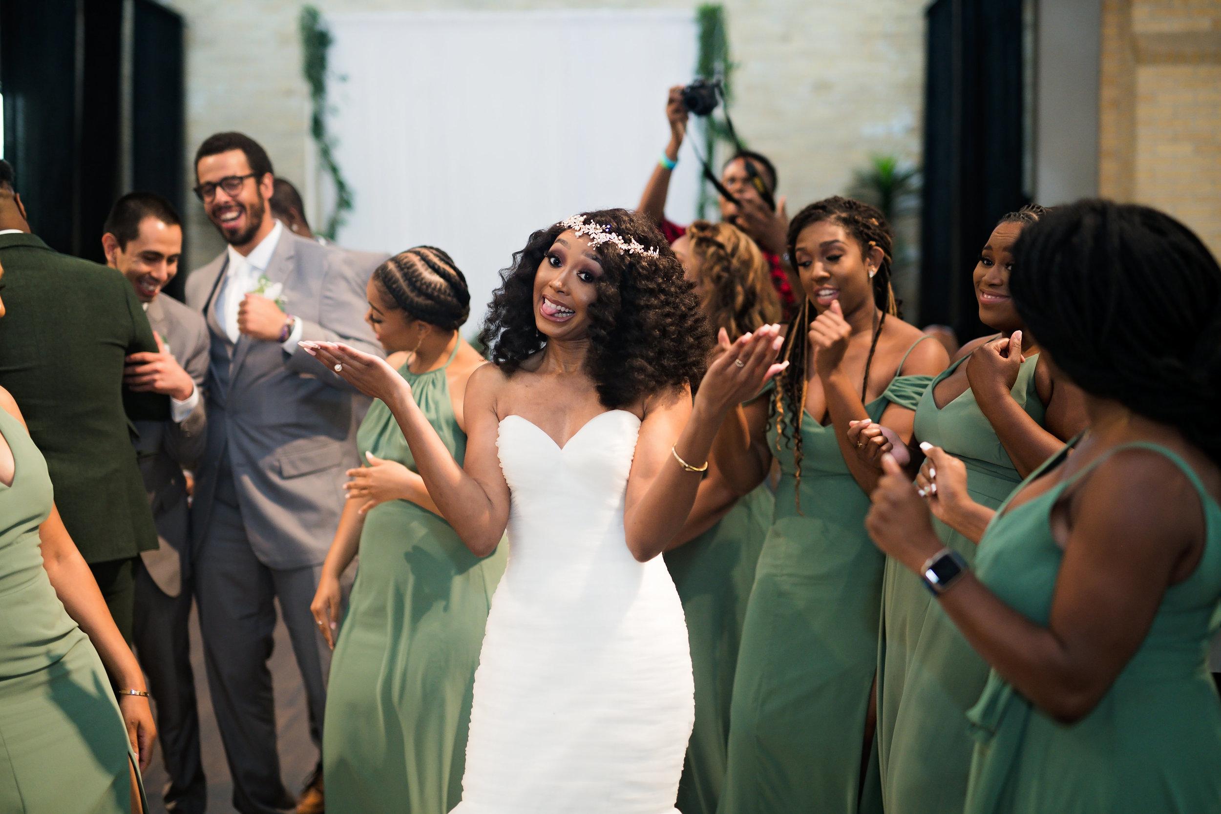 Houston Wedding- Pharris Photography- Reception- Lorece + Jeremy- Dance Floor