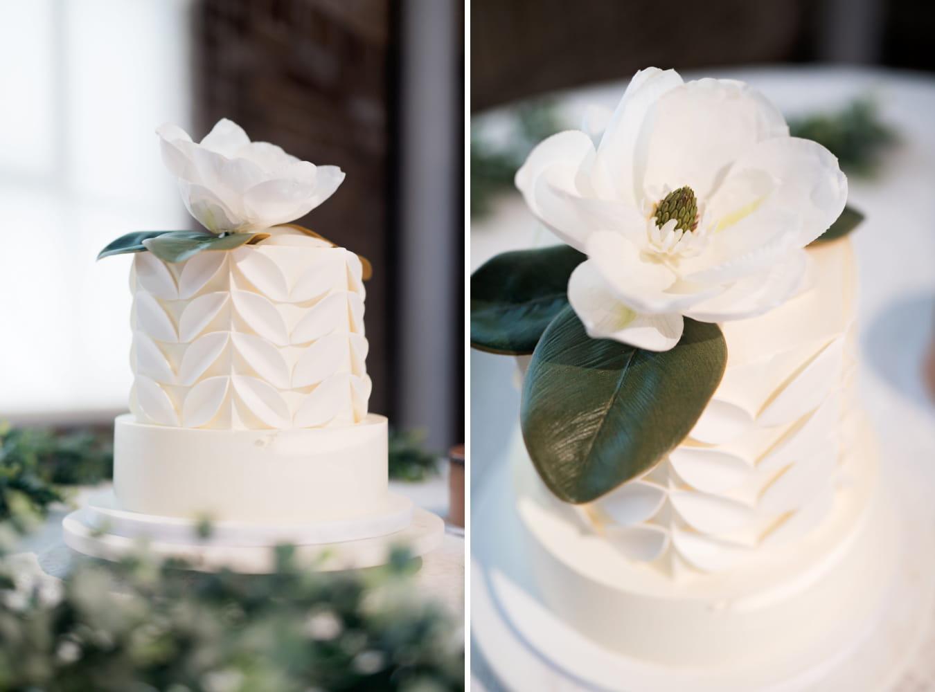 Houston Wedding- Pharris Photography- Reception- Lorece + Jeremy- Wedding Cake
