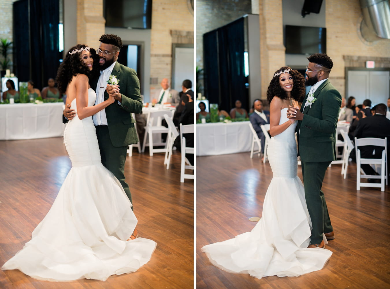 Houston Wedding- Pharris Photography- Reception- Lorece + Jeremy- First Dance