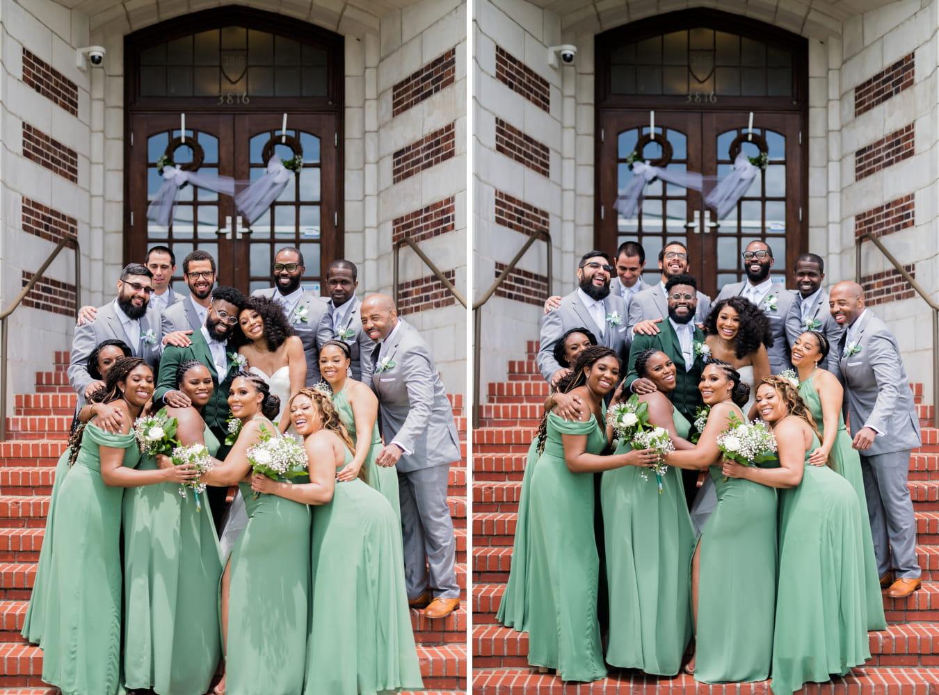 Houston Wedding- Pharris Photography- Bridal Party- Lorece + Jeremy- Wedding Party