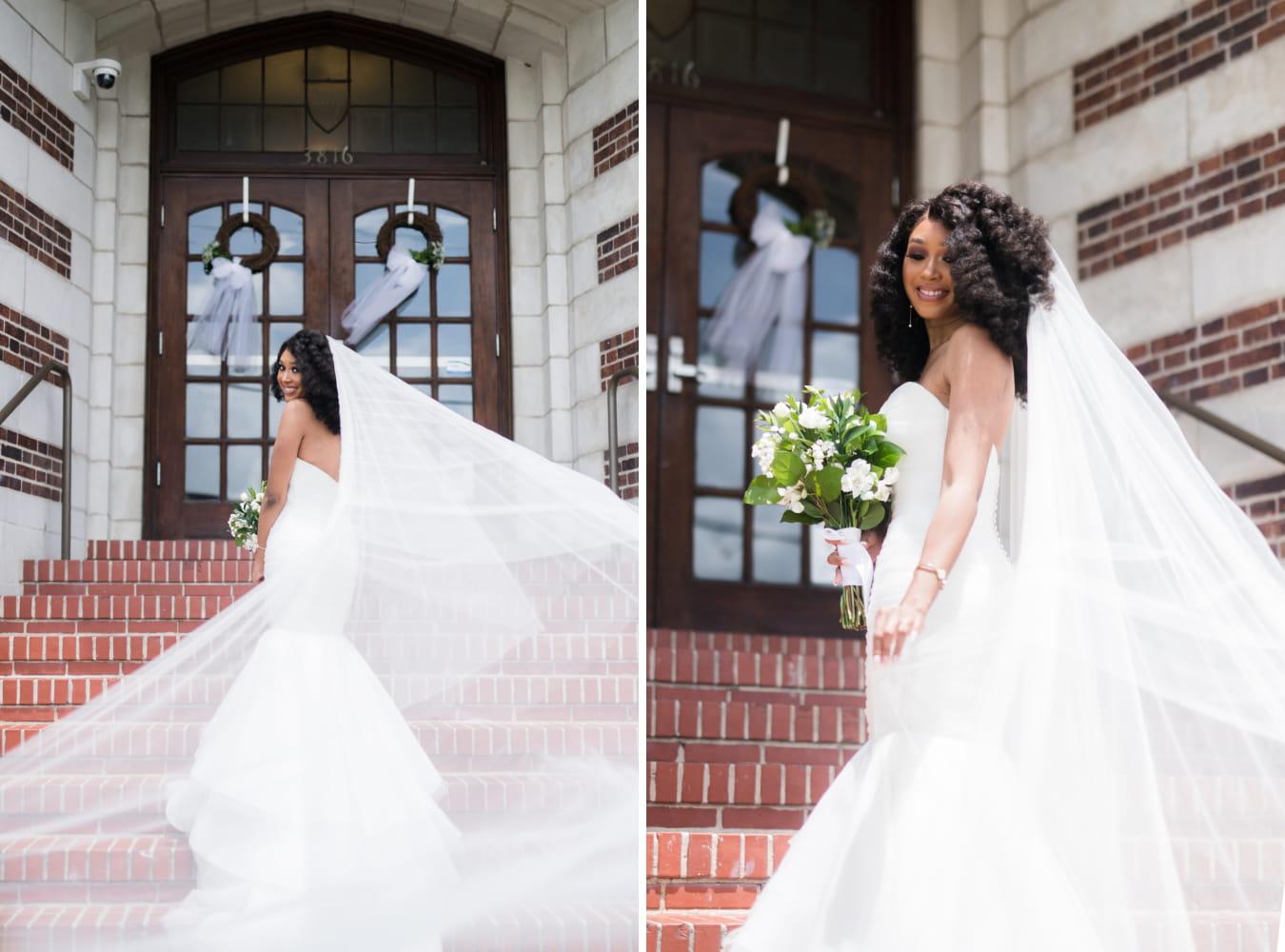 Houston Wedding- Pharris Photography- Bridal Party- Lorece + Jeremy- Bride